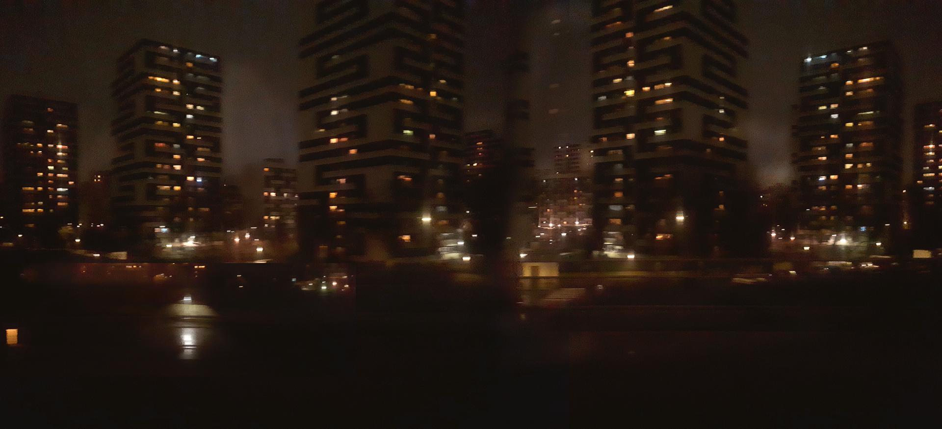 Retour sur Paris nuit