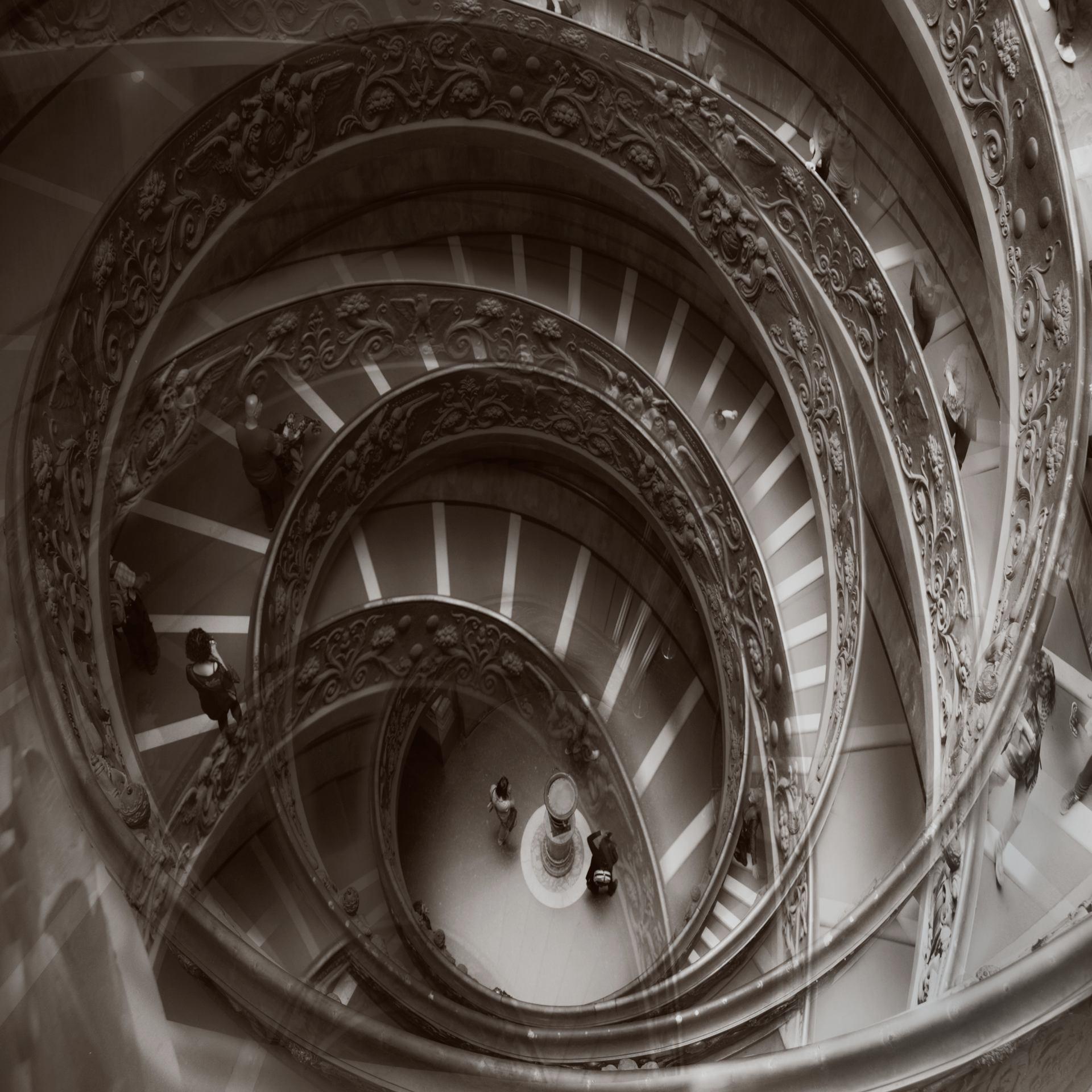 Escalier Arobase