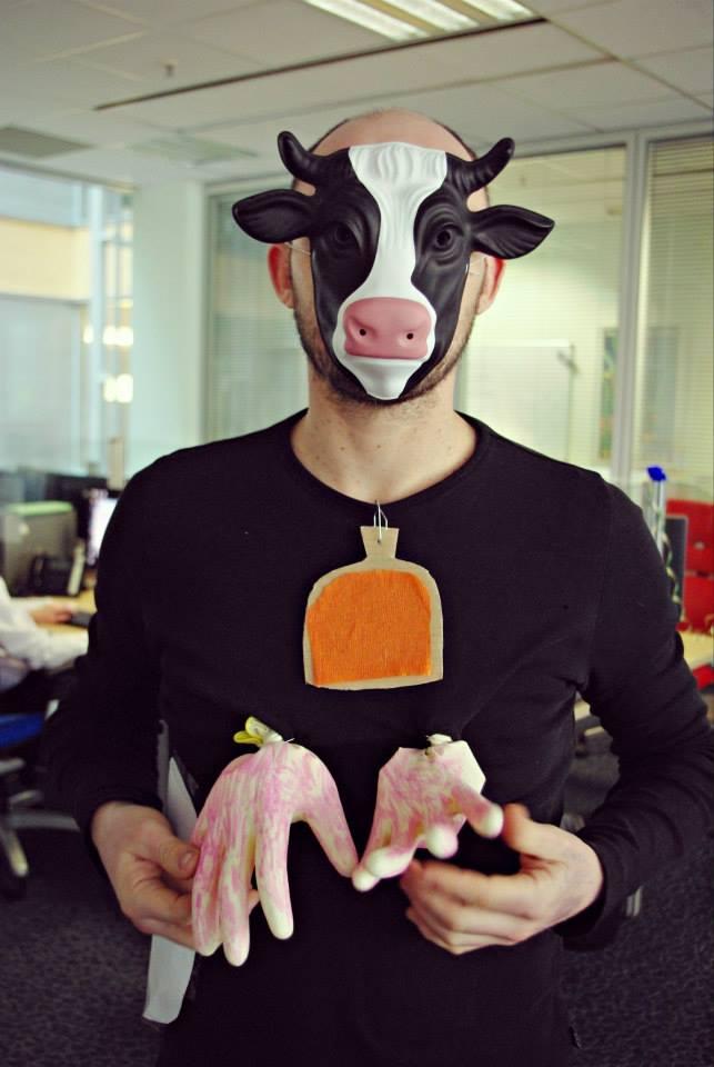 La vache humaine