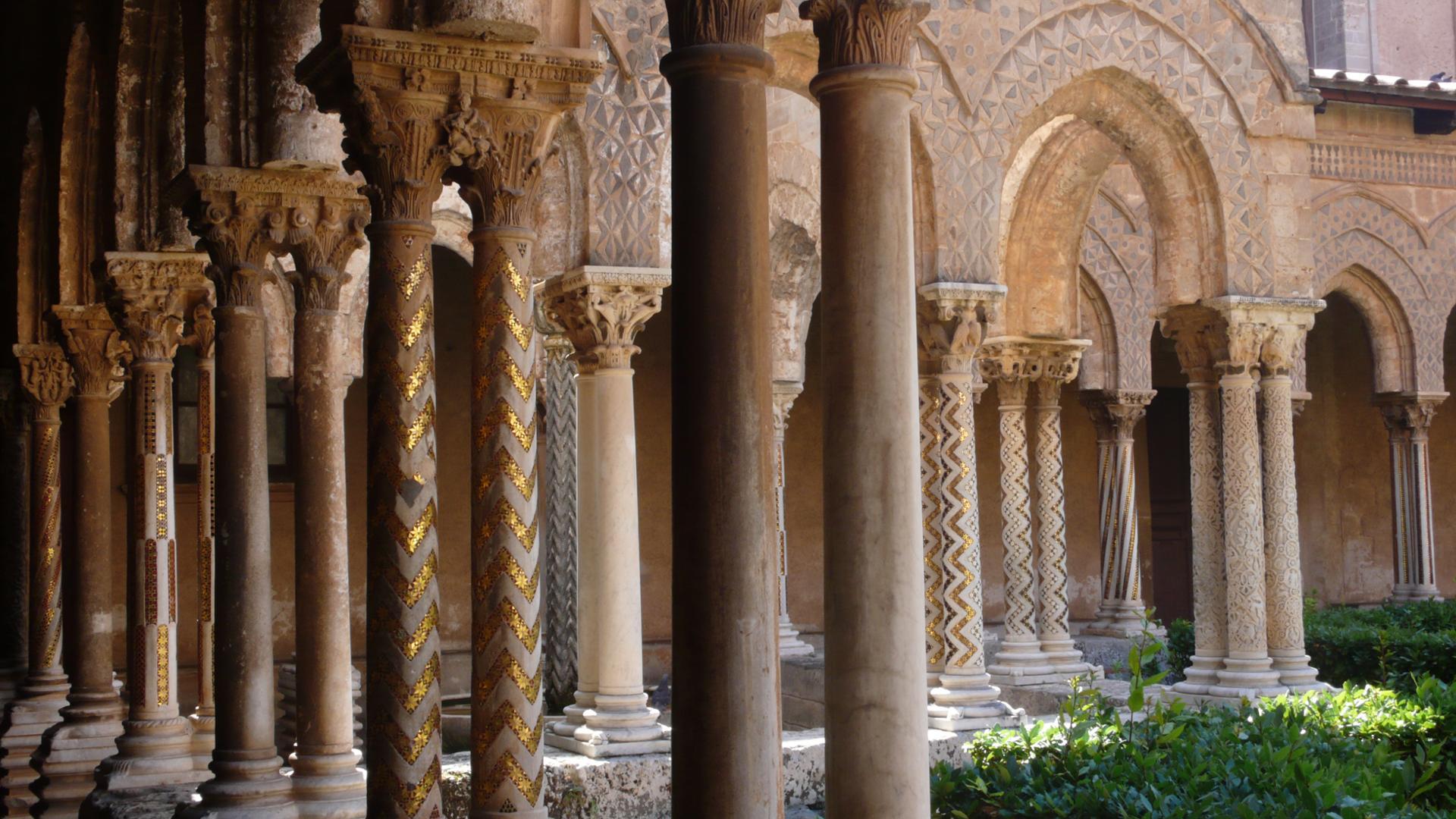 Forêt de colonnes