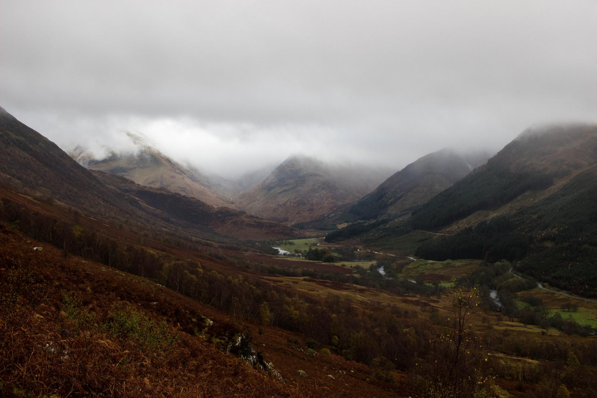 View from the Ben Nevis