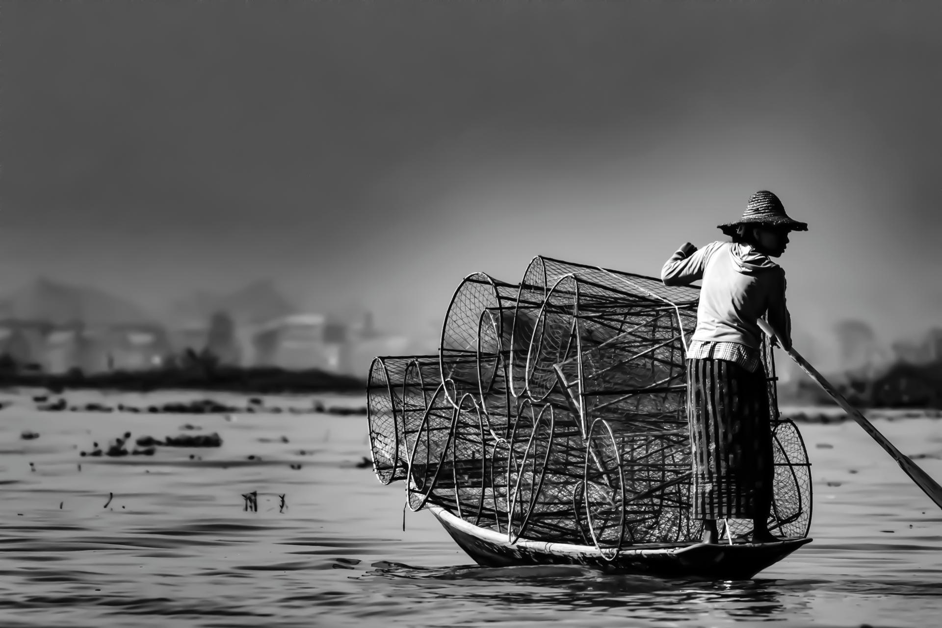 Fishermen - Inle Lake - Burma