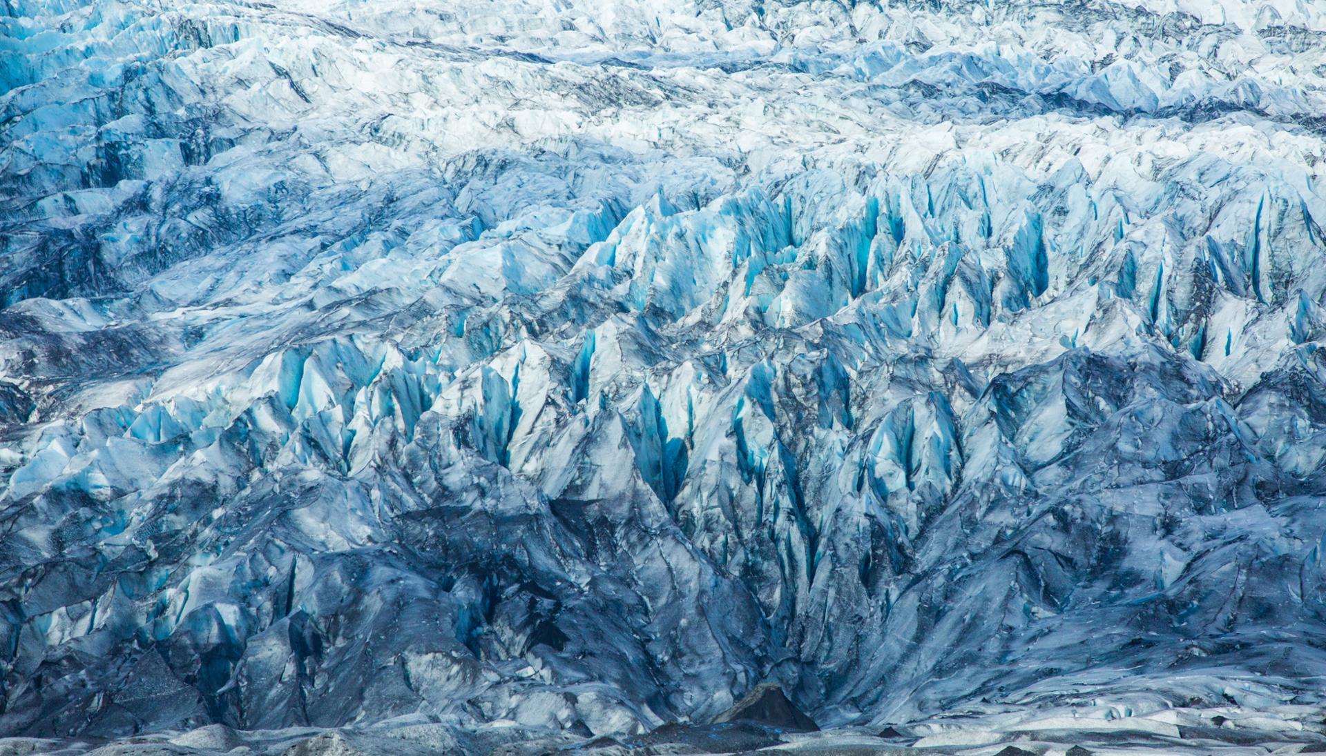 Le glacier graphique.