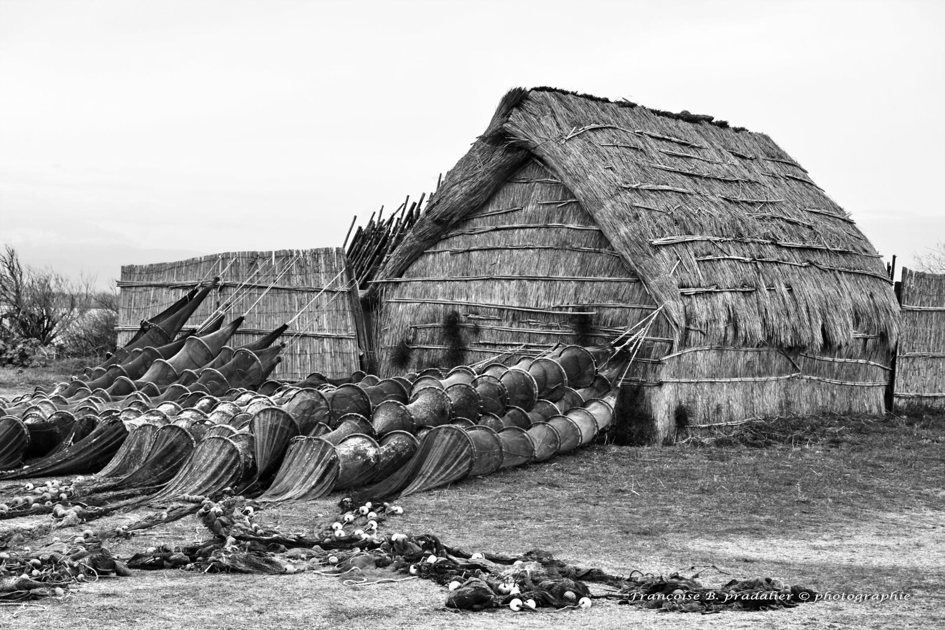 Cabane des pêcheurs * étang de Canet St Nazaire