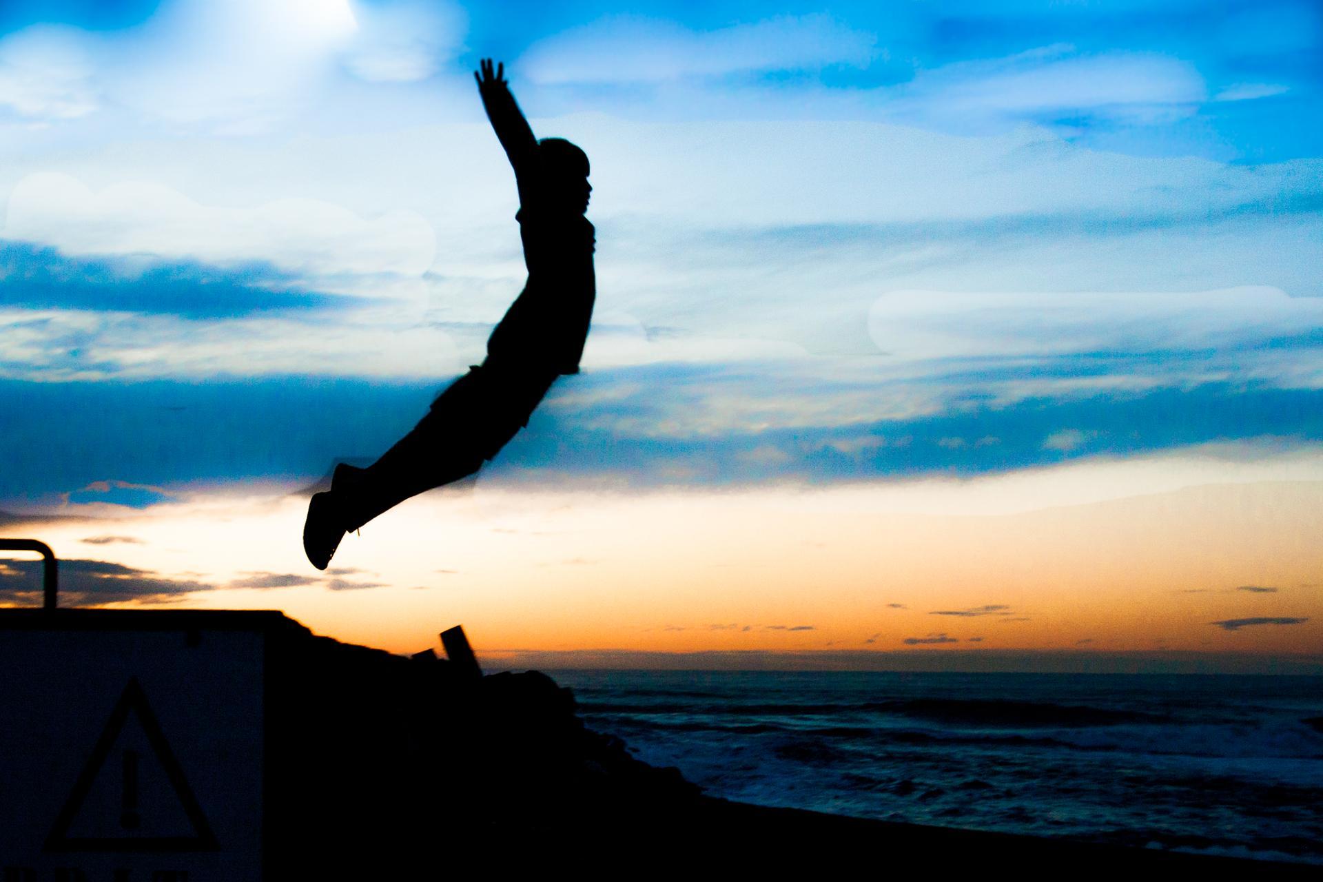 saut de l'ange