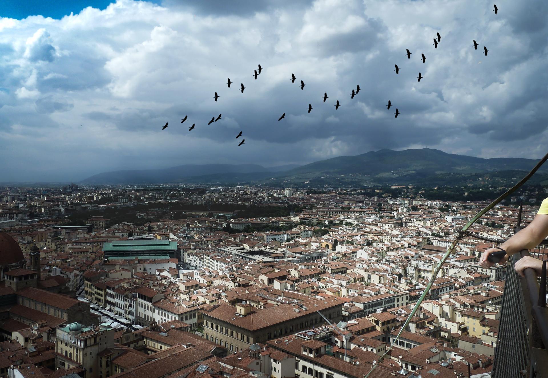 Dans le ciel de Florence