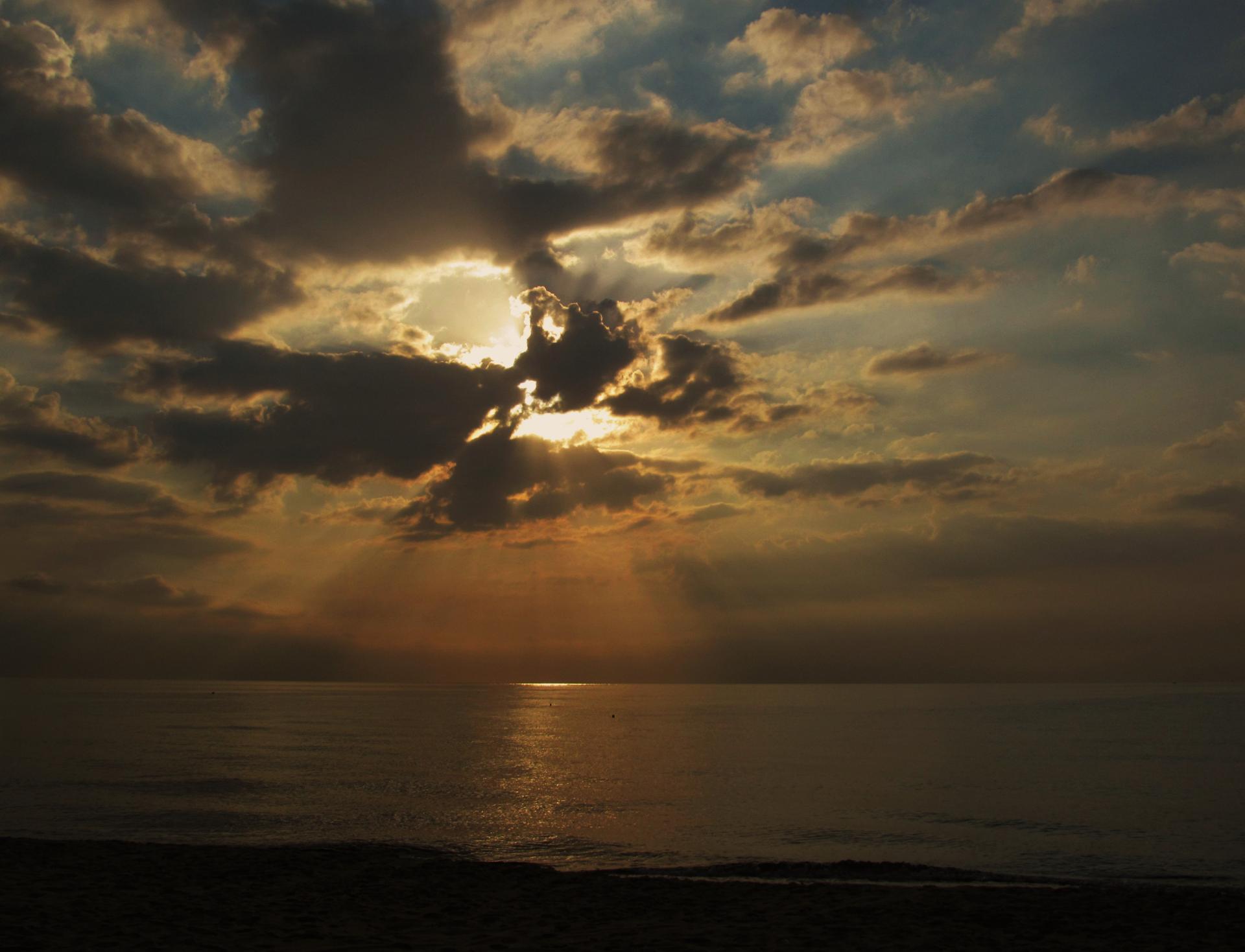 Lever de soleil tunisien