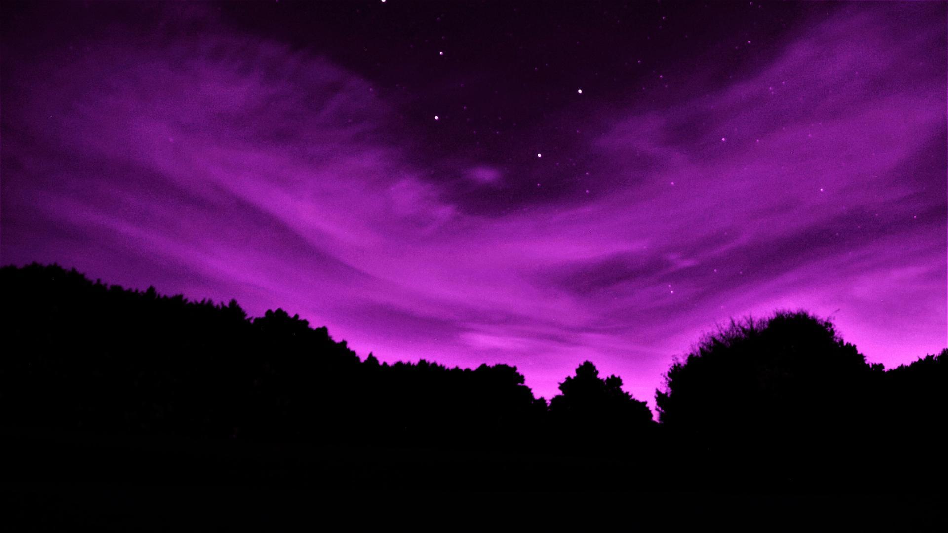 Nuit céleste