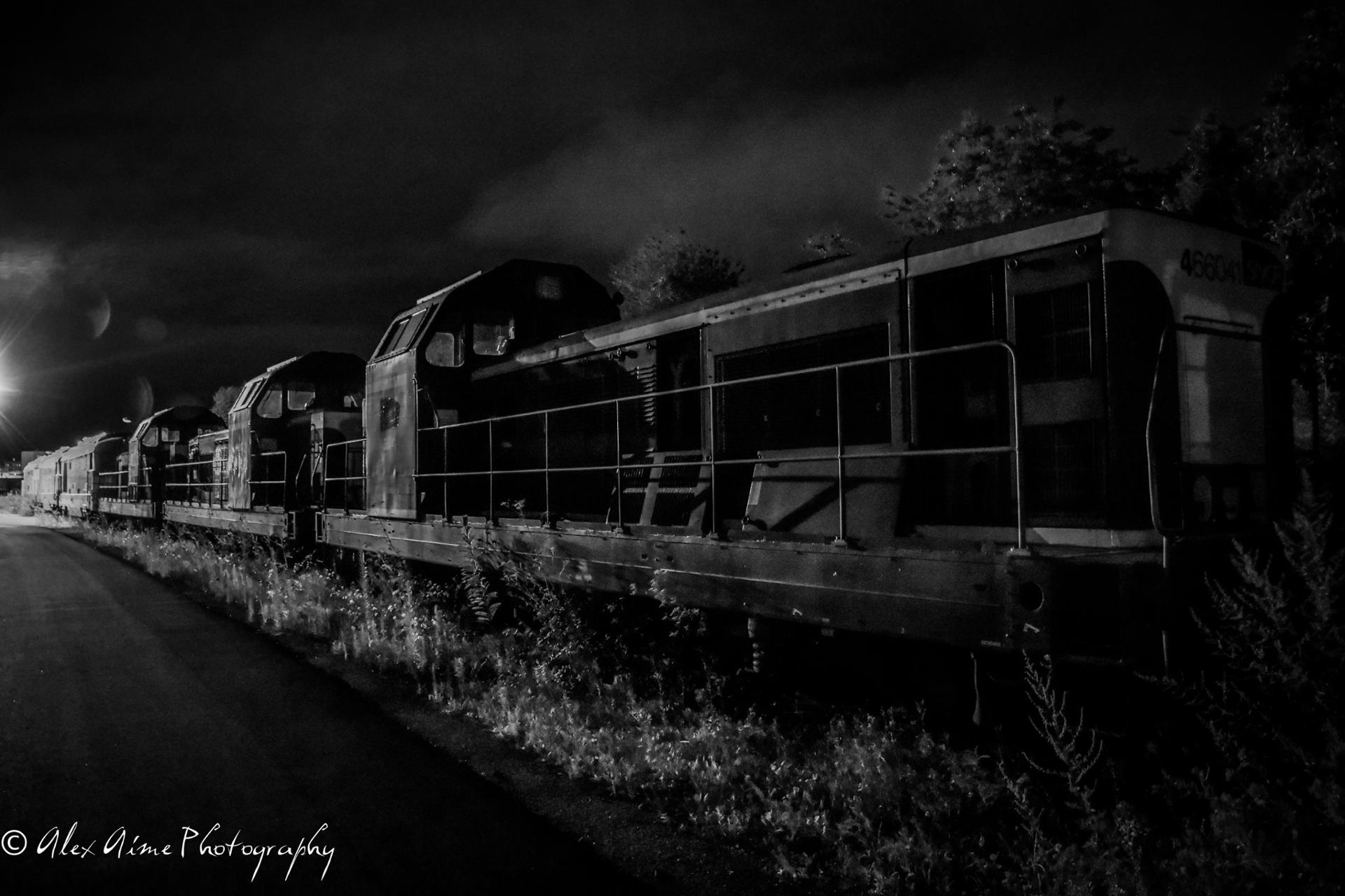 Train urbex #2