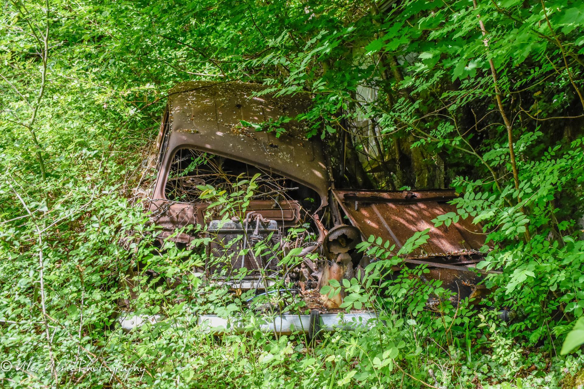 Renault 4L urbex