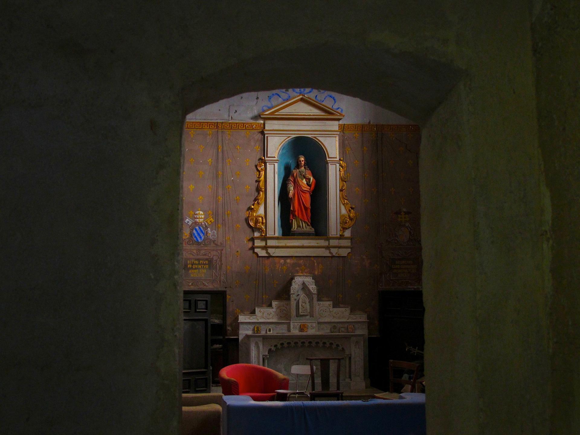 Petit salon religieux