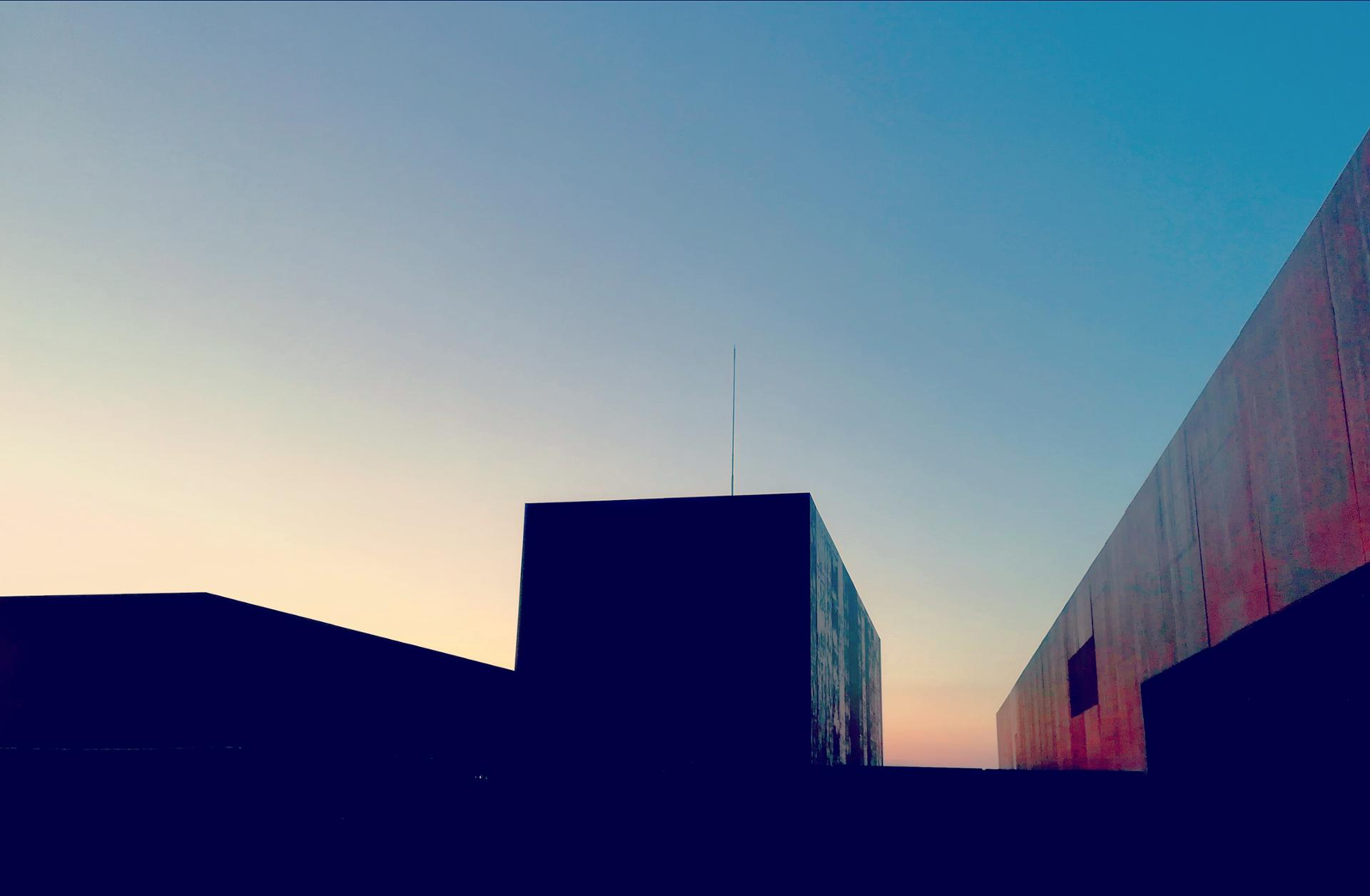 sunset soulages museum