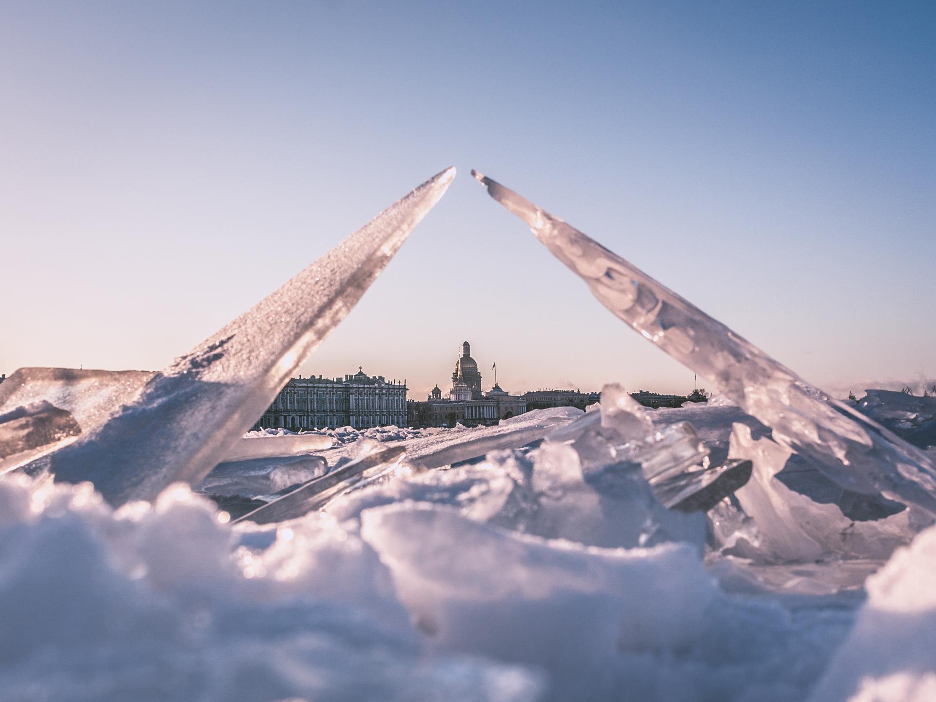 Bridge of ice
