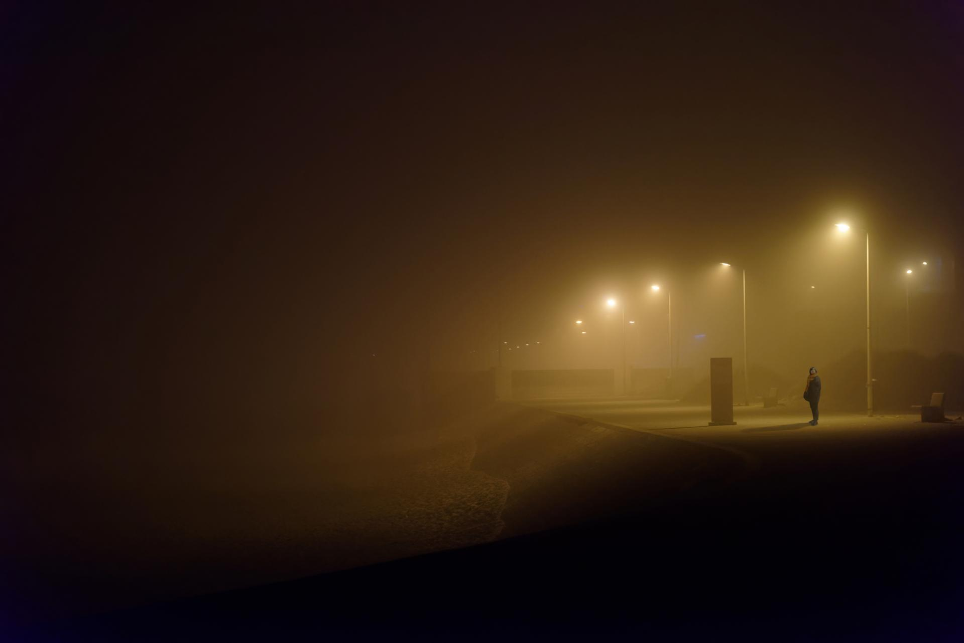 Fog lady