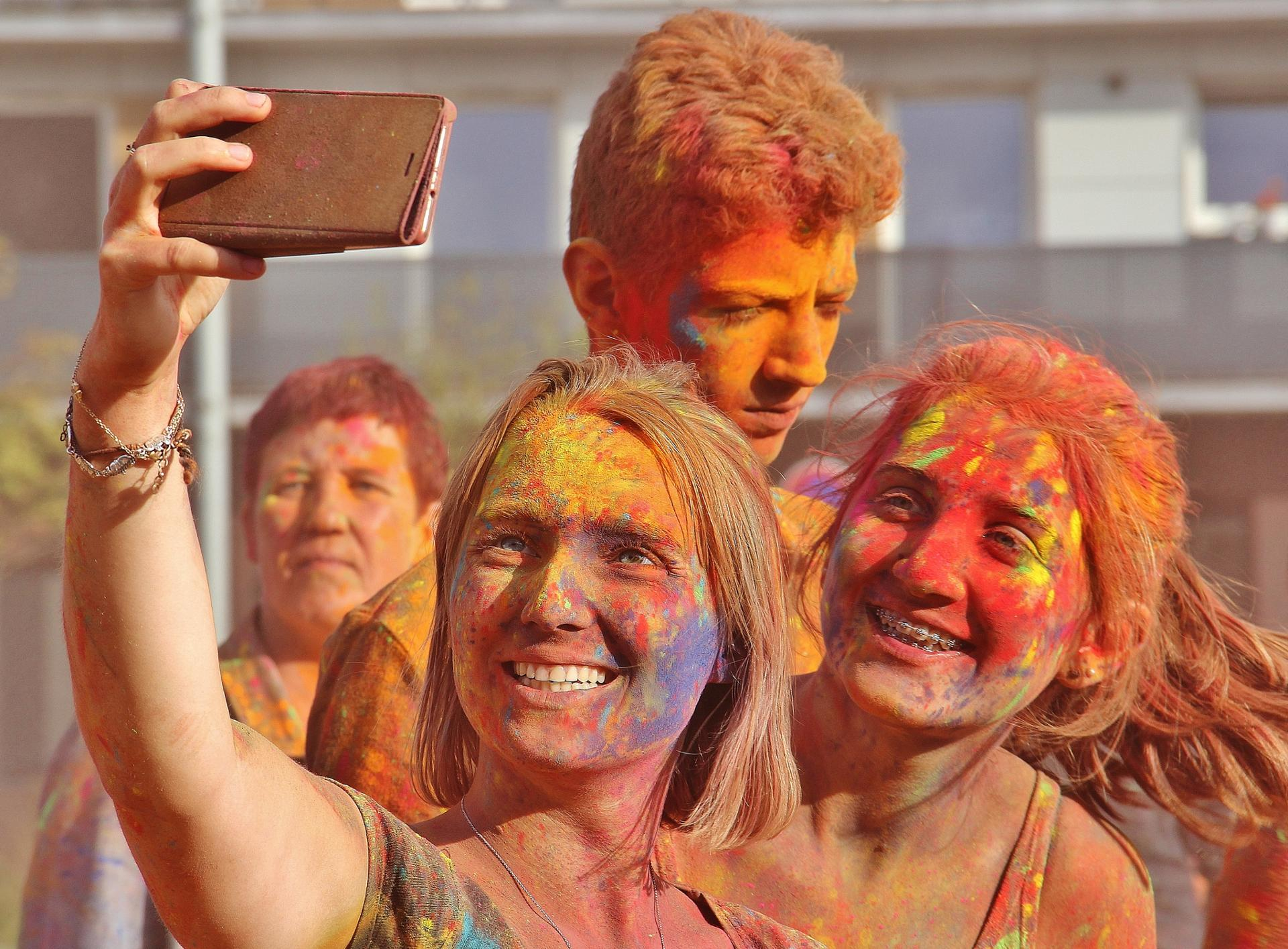 Teenagers colors
