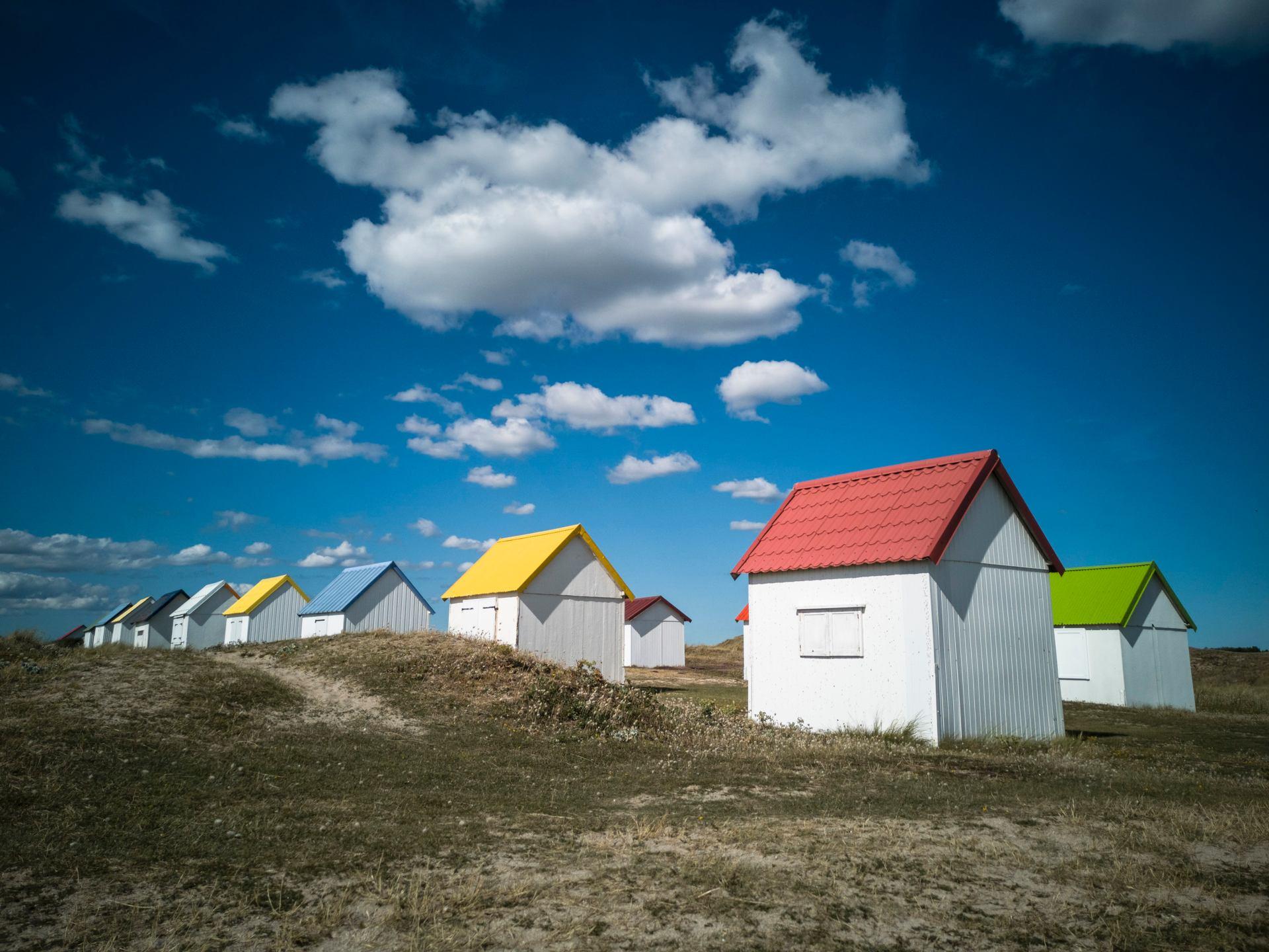 Les cabanes de Gouville