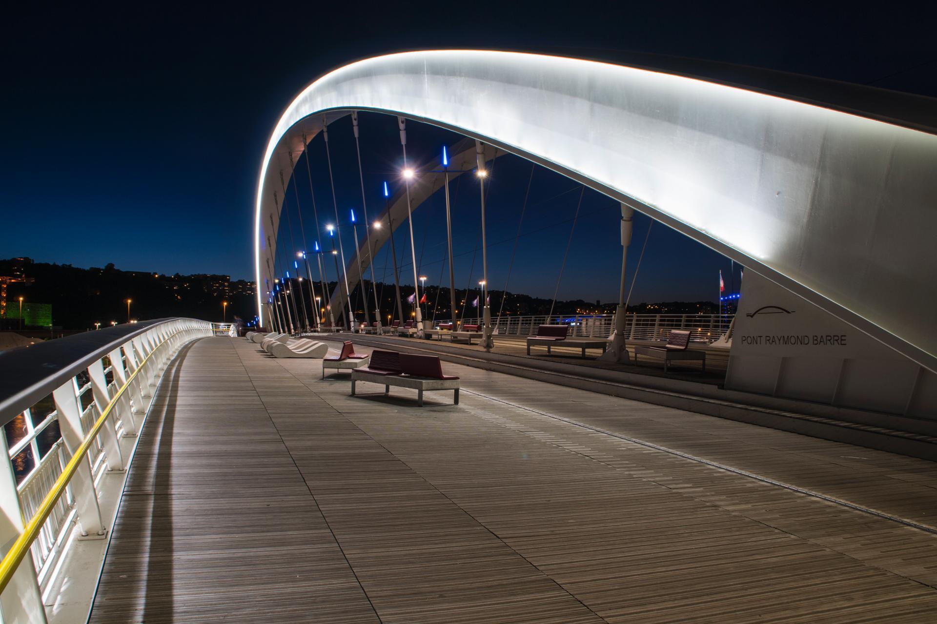 Pont Raymond Barre - Lyon.