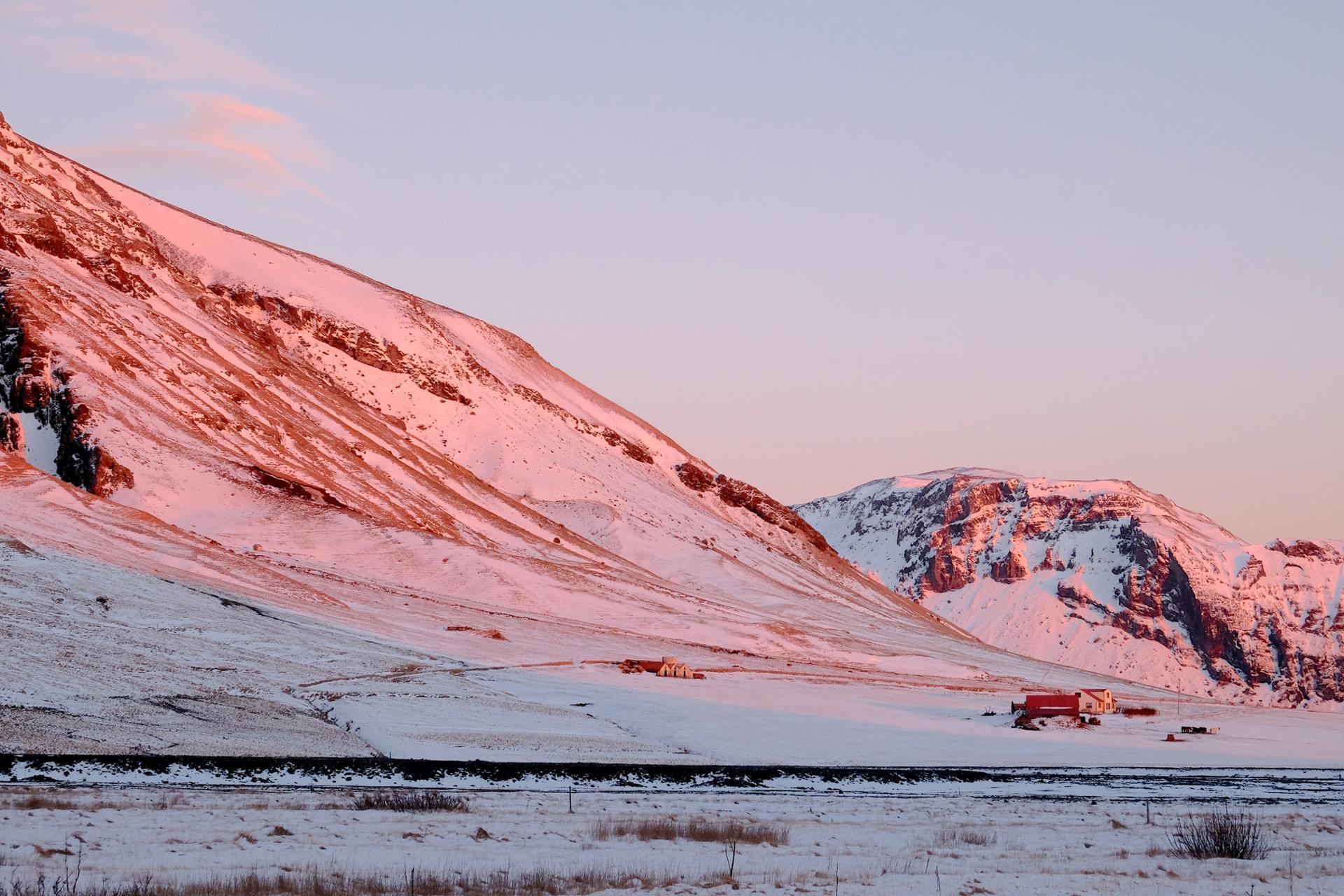 fin du jour islandais