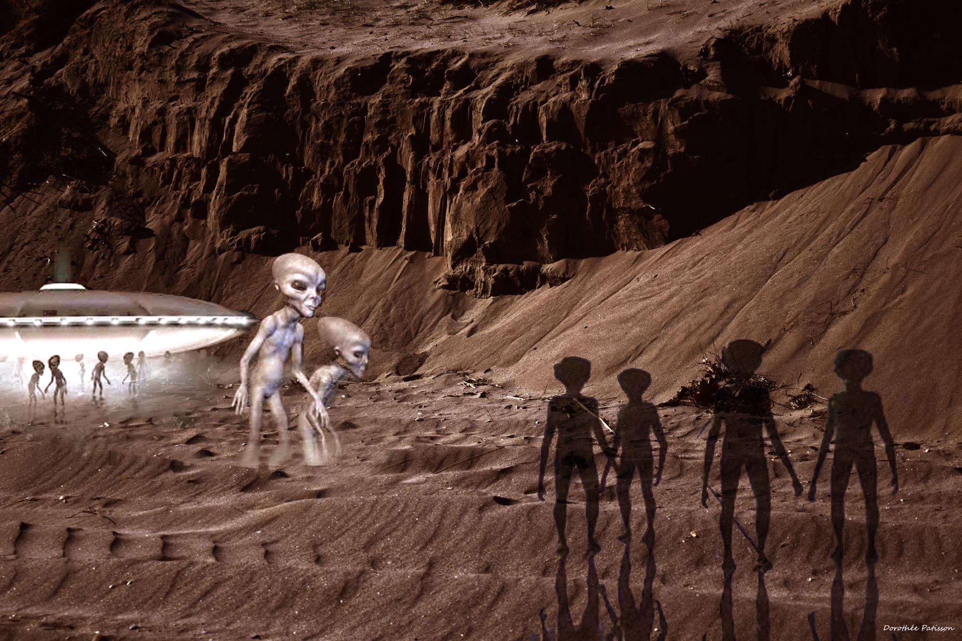 En direct de Mars...