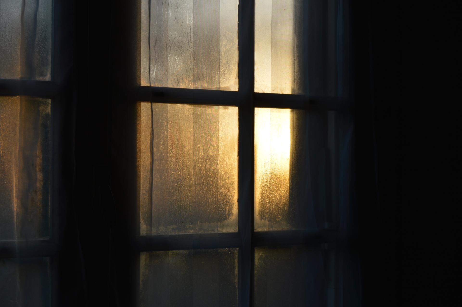 Lumières d'hiver - Fenêtre