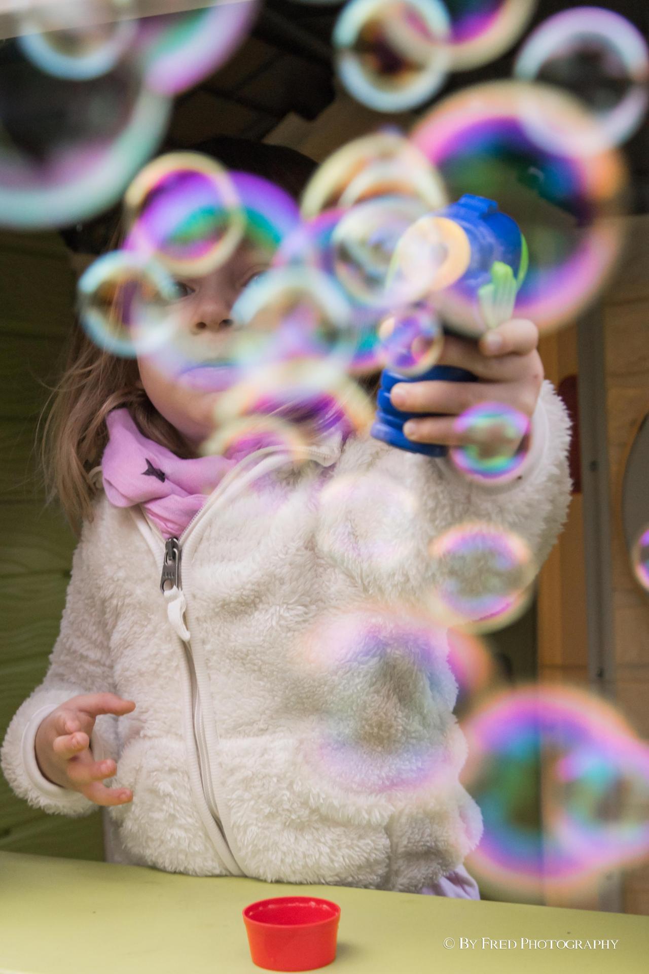 Dans mes bulles...