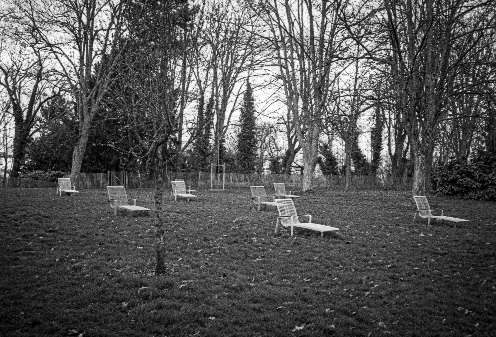Parc Henri Barbusse, hiver 2020