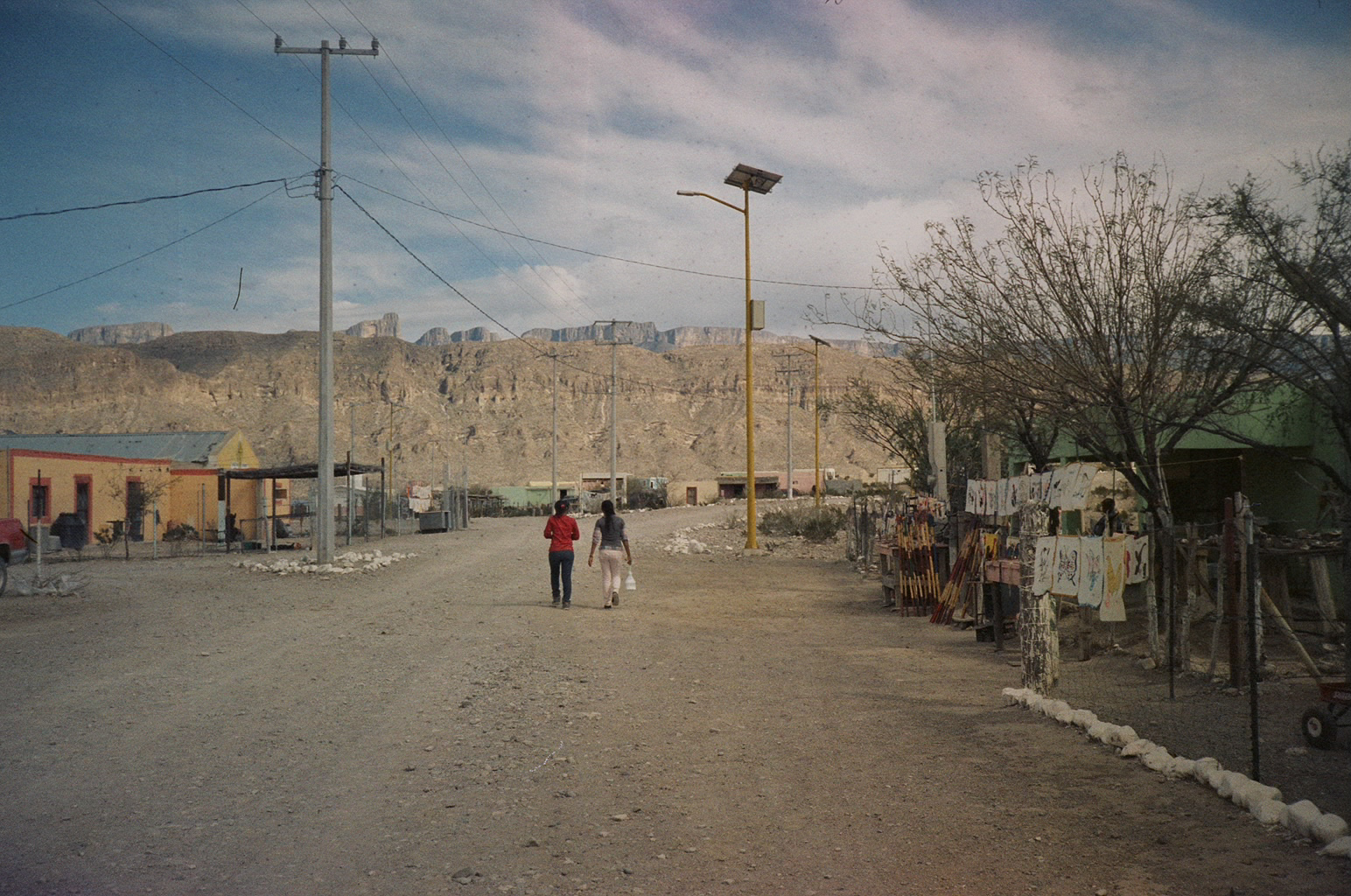 Hanging out in Boquillas, Mexico, 2017