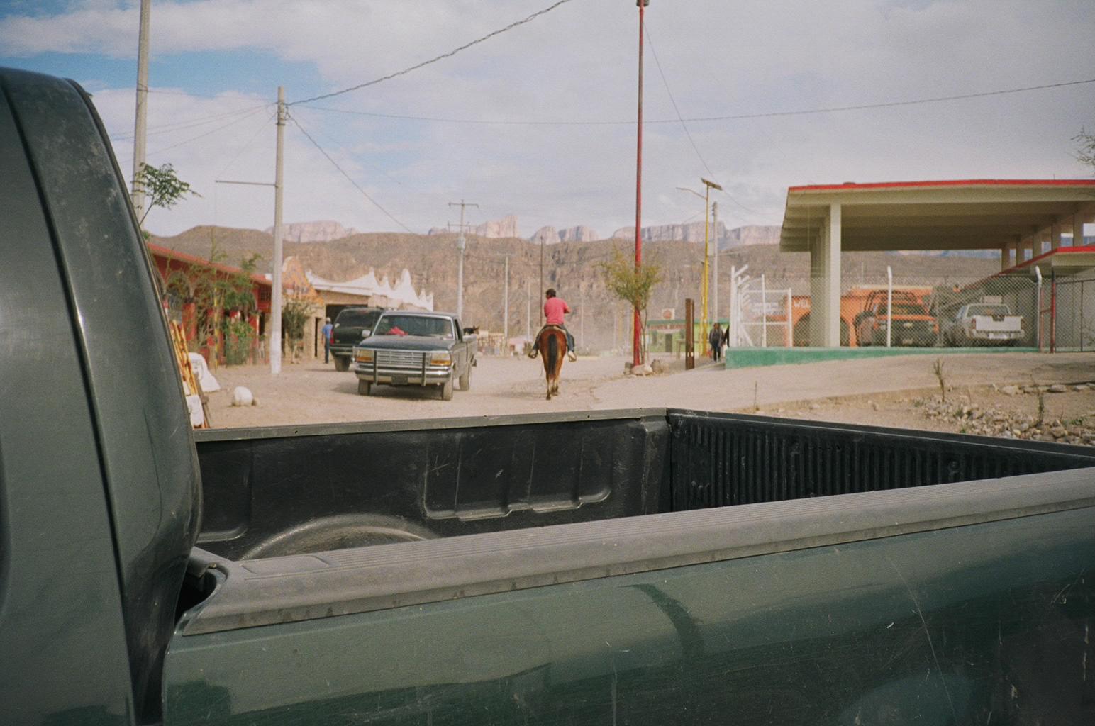 Riding horses, Boquillas, Mexico, 2017