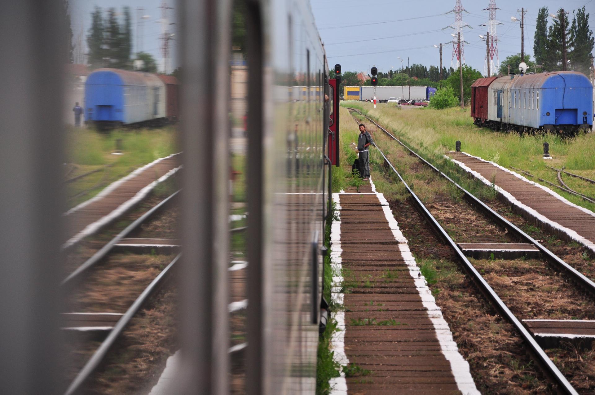 Romanian trains