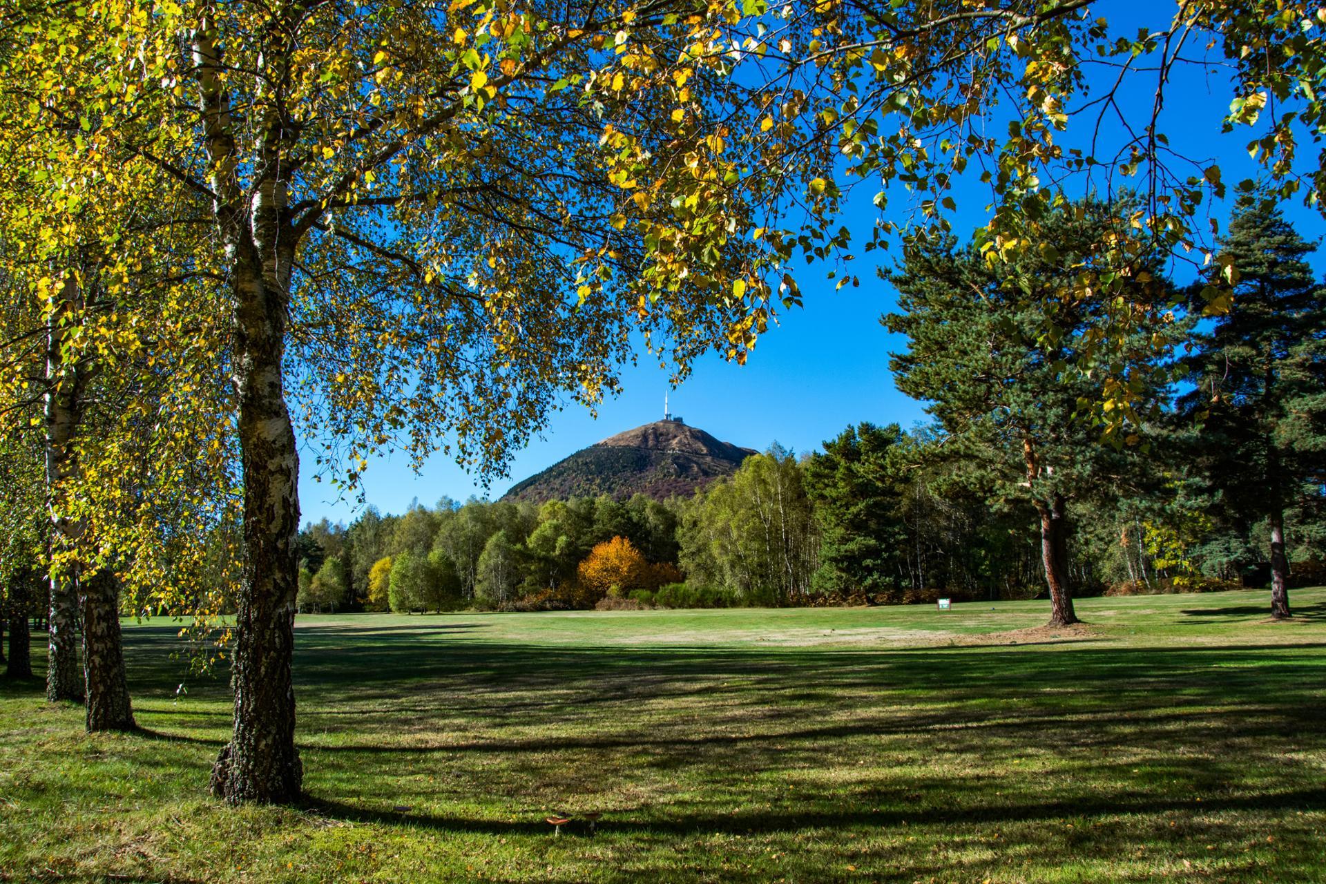 Puy de Dôme en automne