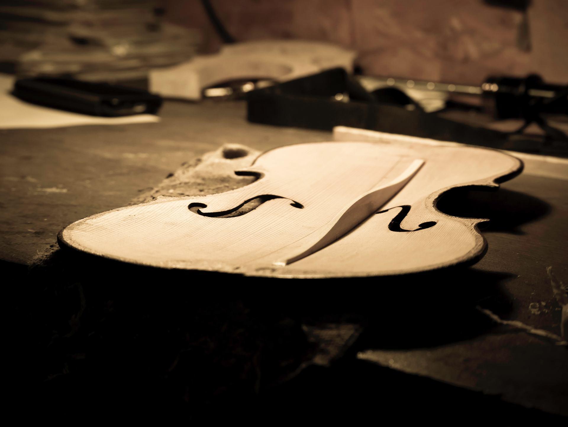 L'atelier du luthier