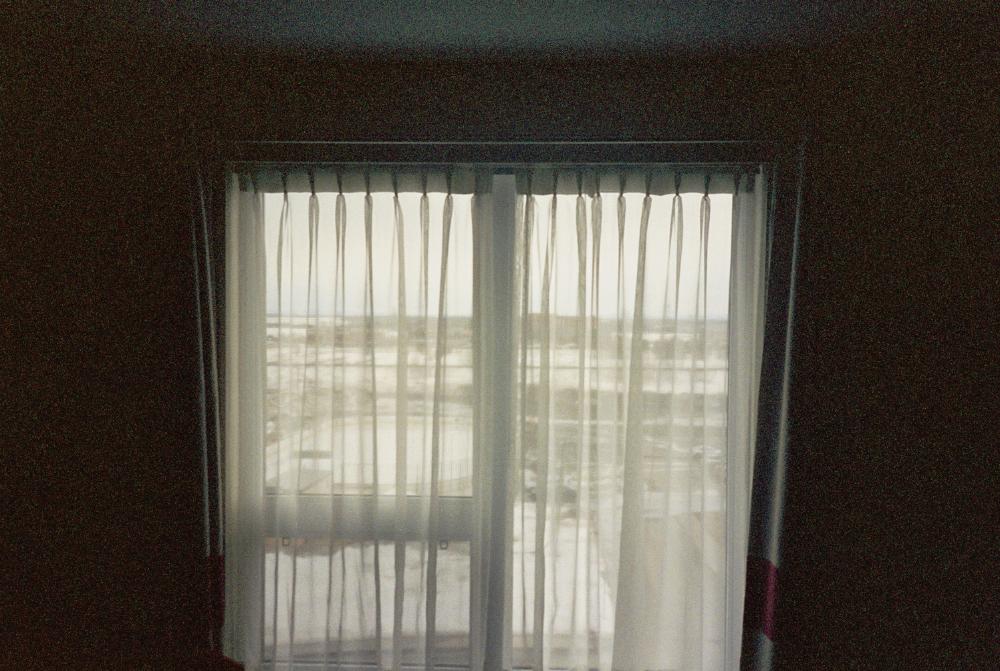 Fenêtre d'hôtel.