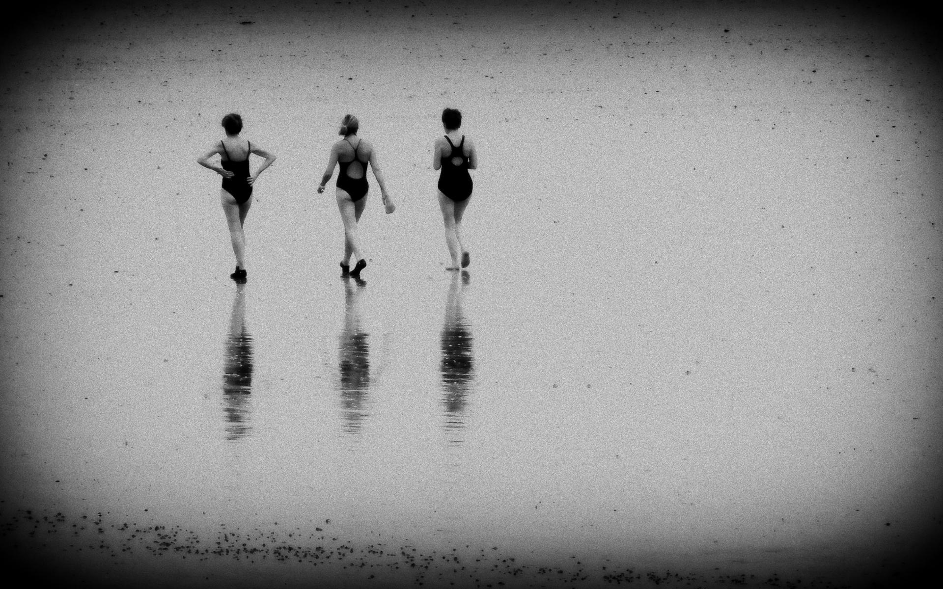 Les baigneuses ...