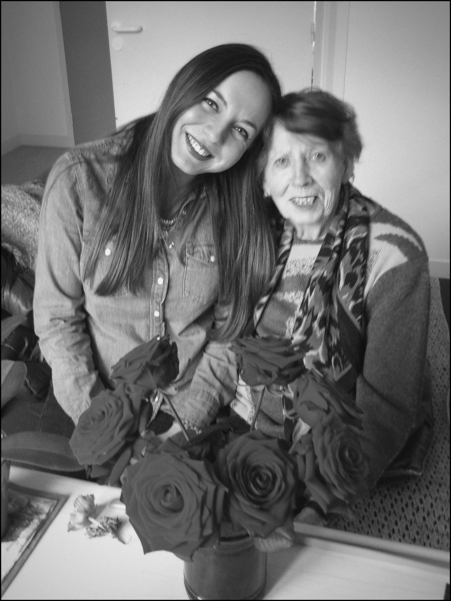 Des roses pour mamie ...