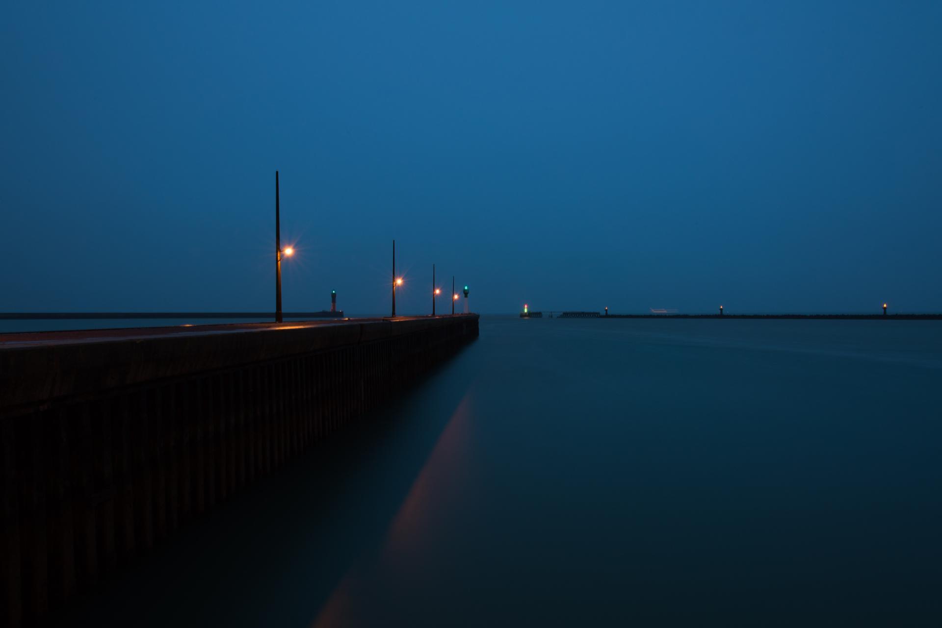 La jetée à Dunkerque