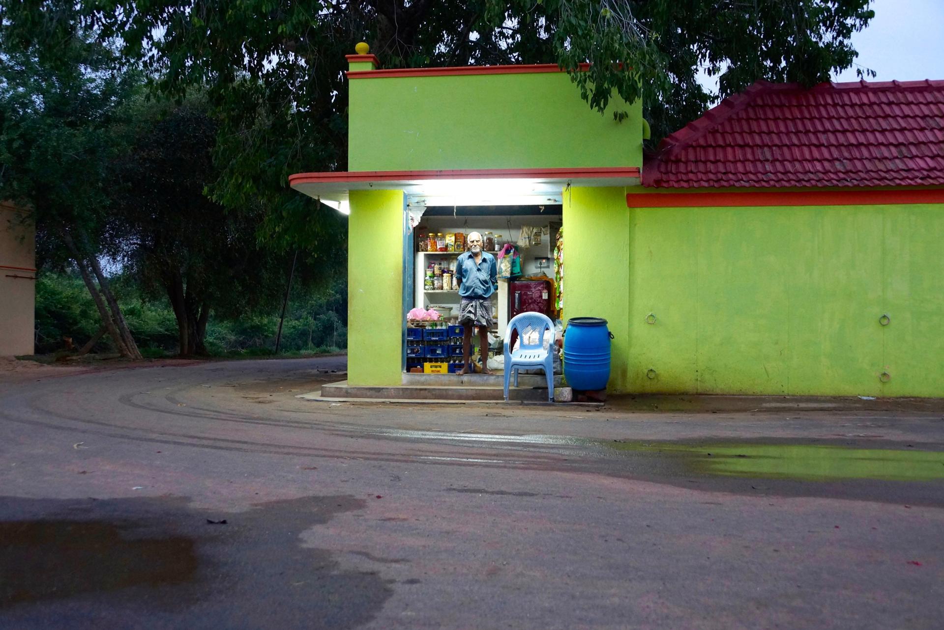 Boutique en Inde