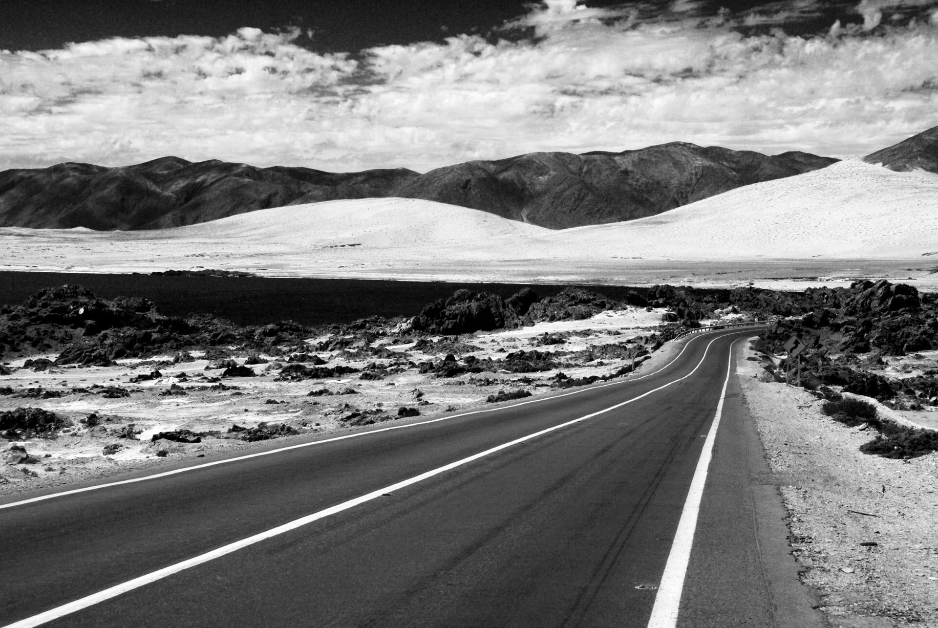 Route au Chili