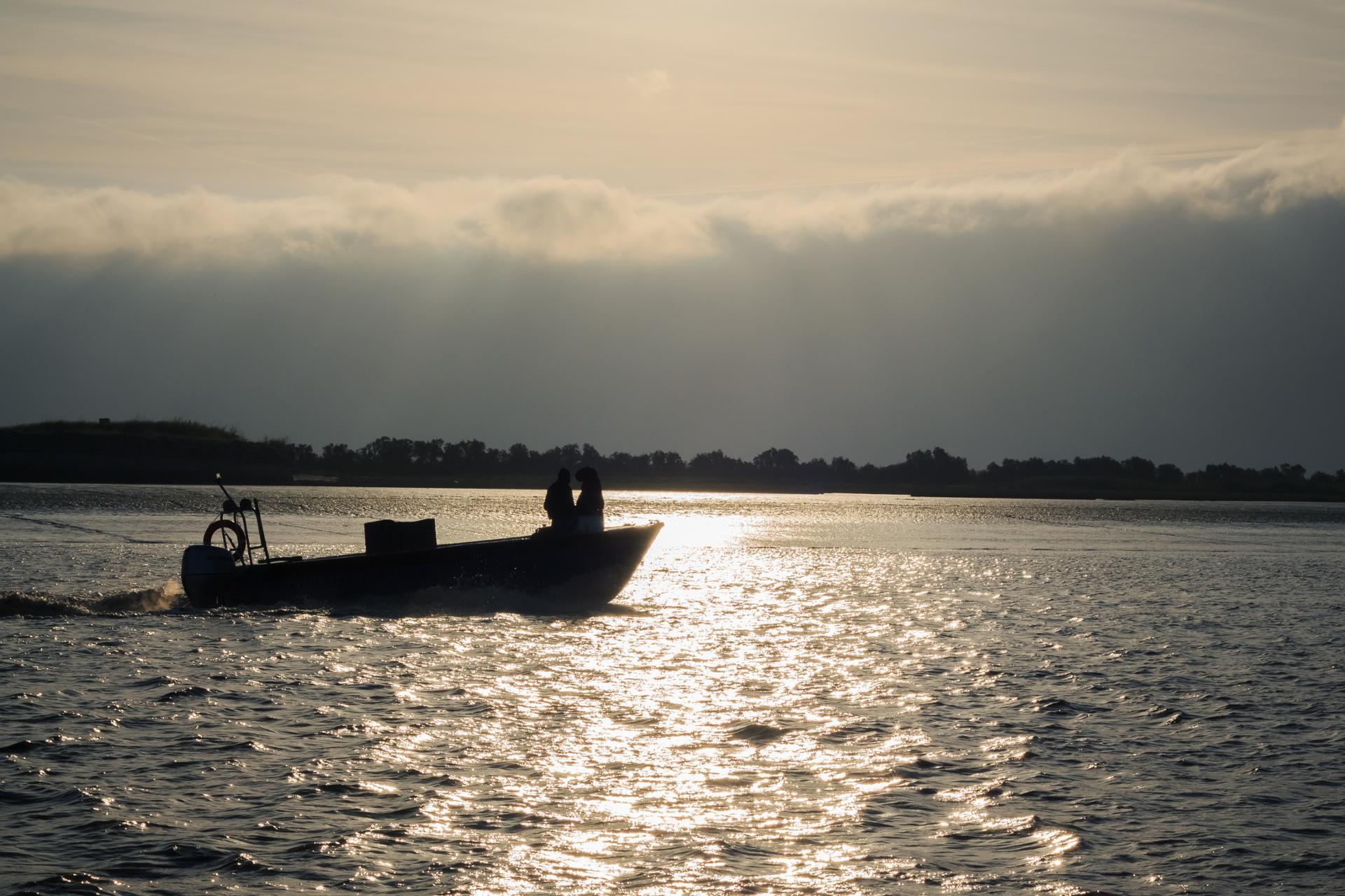Aube du pêcheur