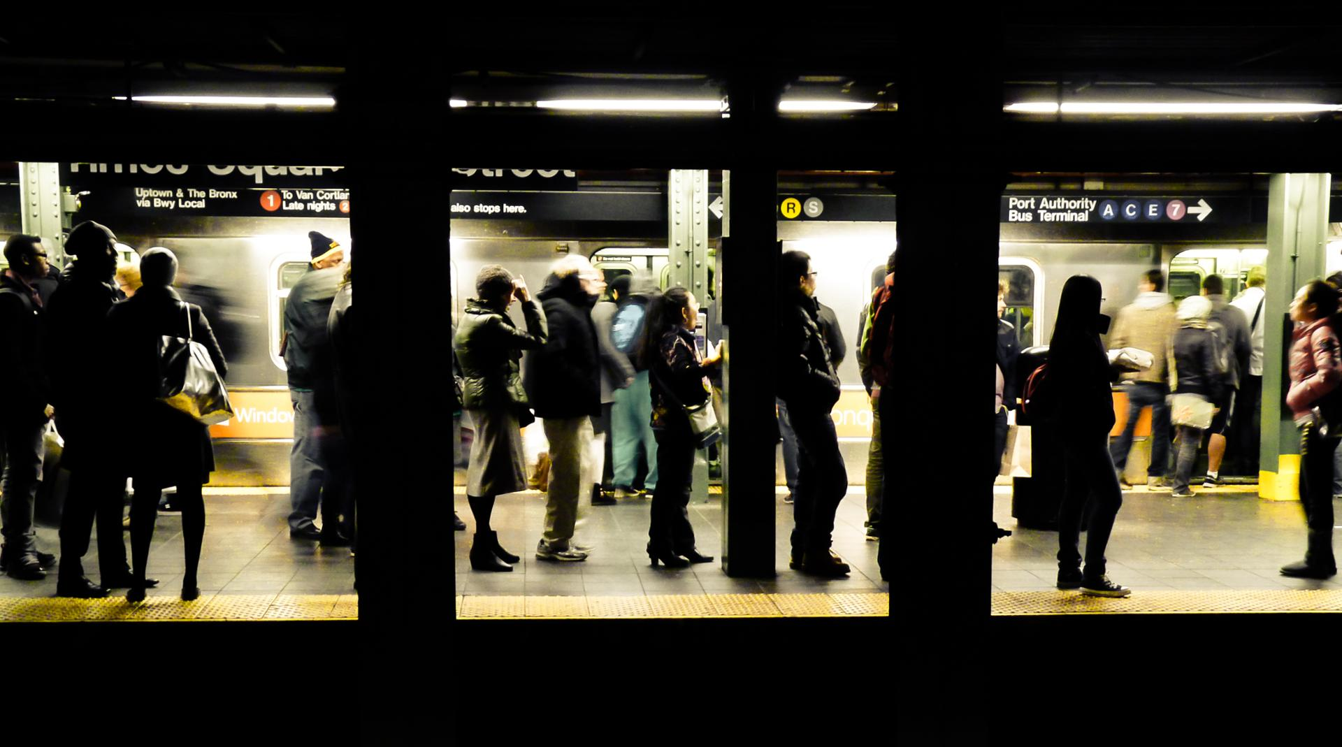 Pellicule du metro