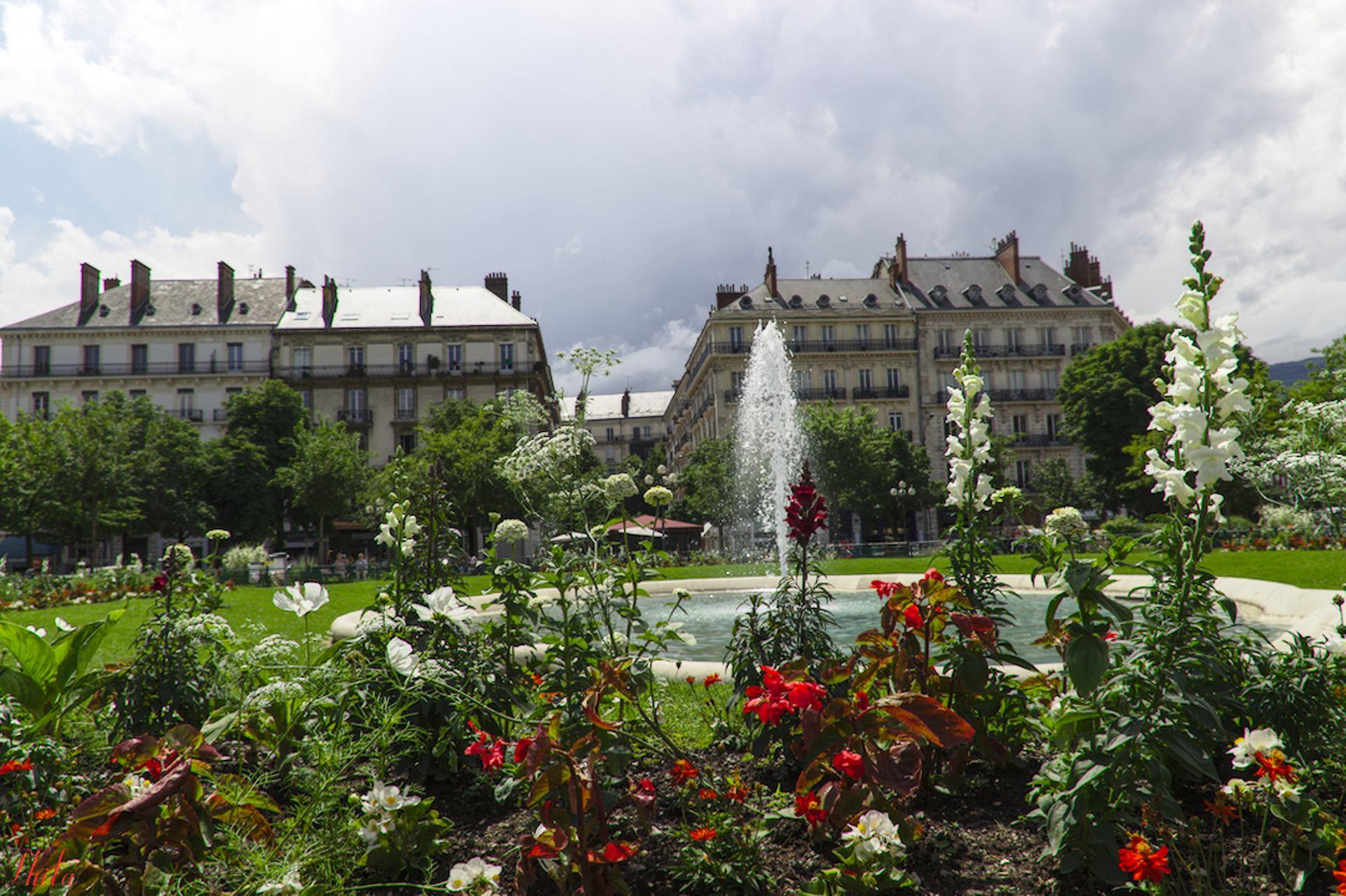 Jardin du centre ville