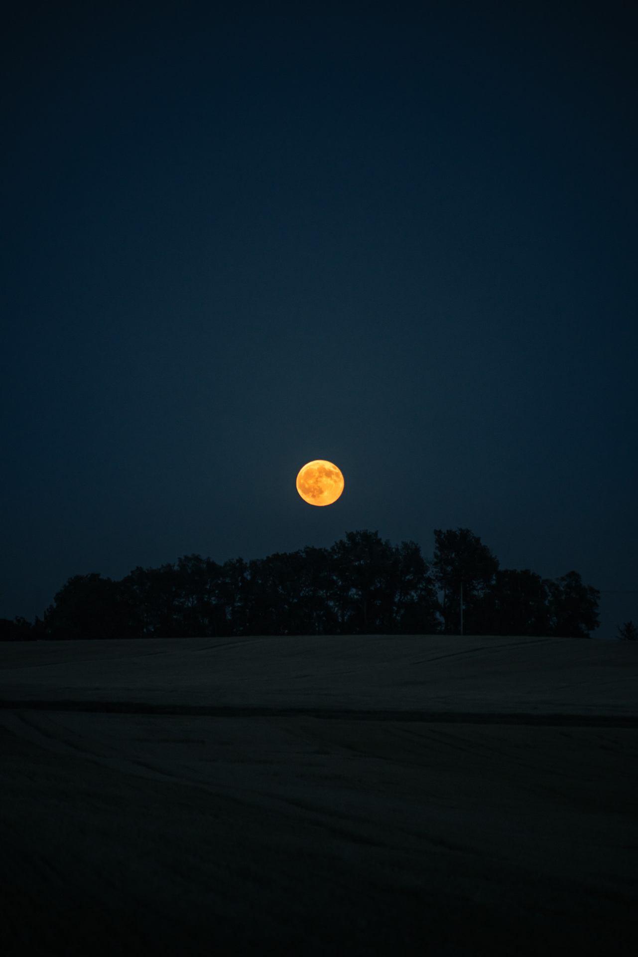 Lune pleine à craquer