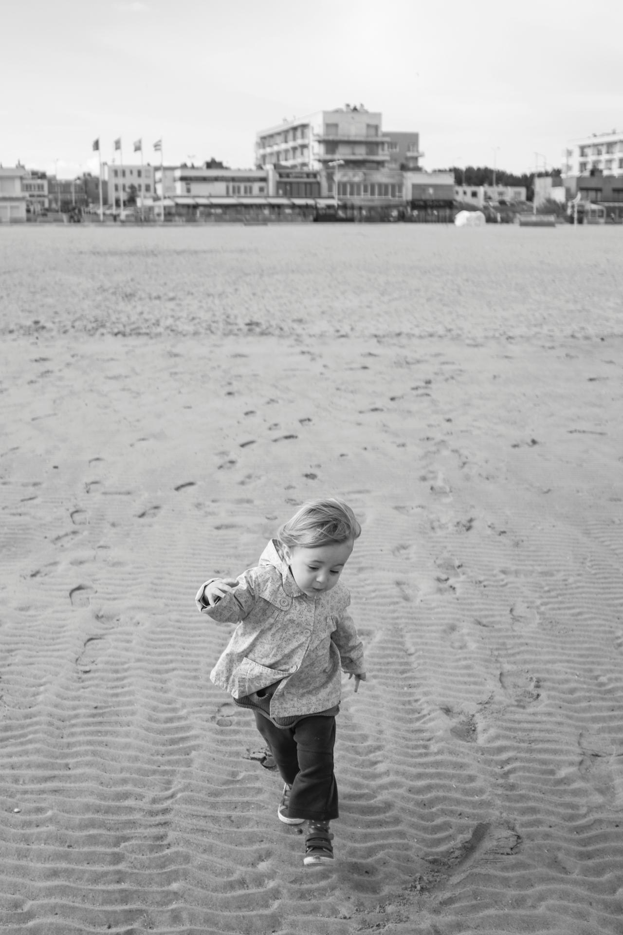 Running to the sea