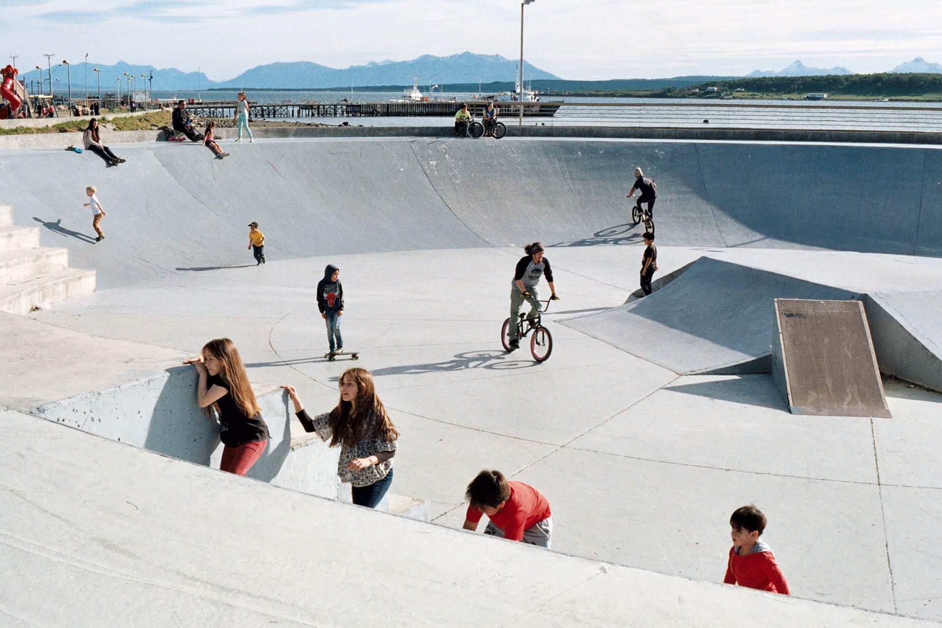 Skate park du sud
