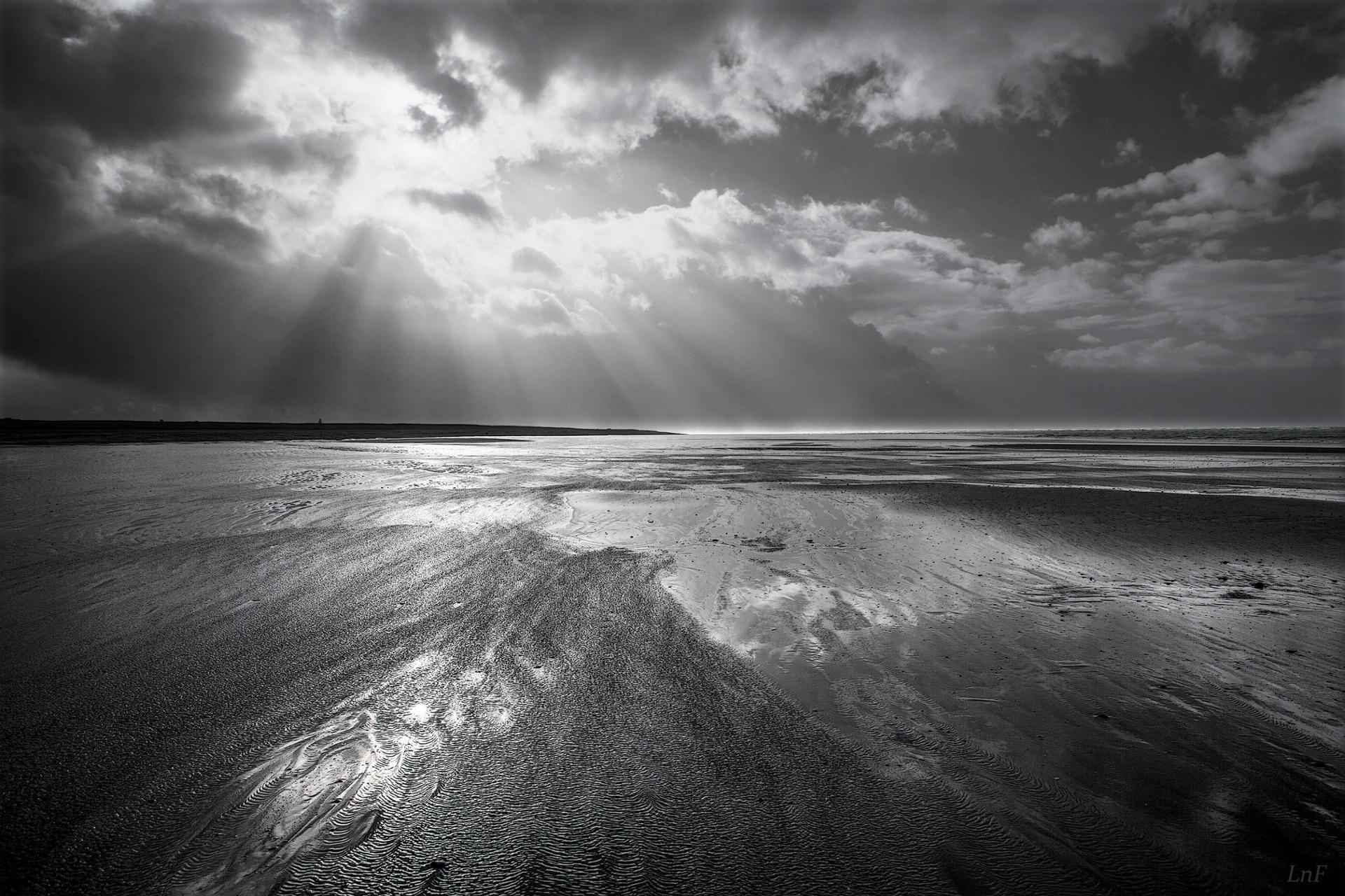 Photo du jour : grain sur la plage