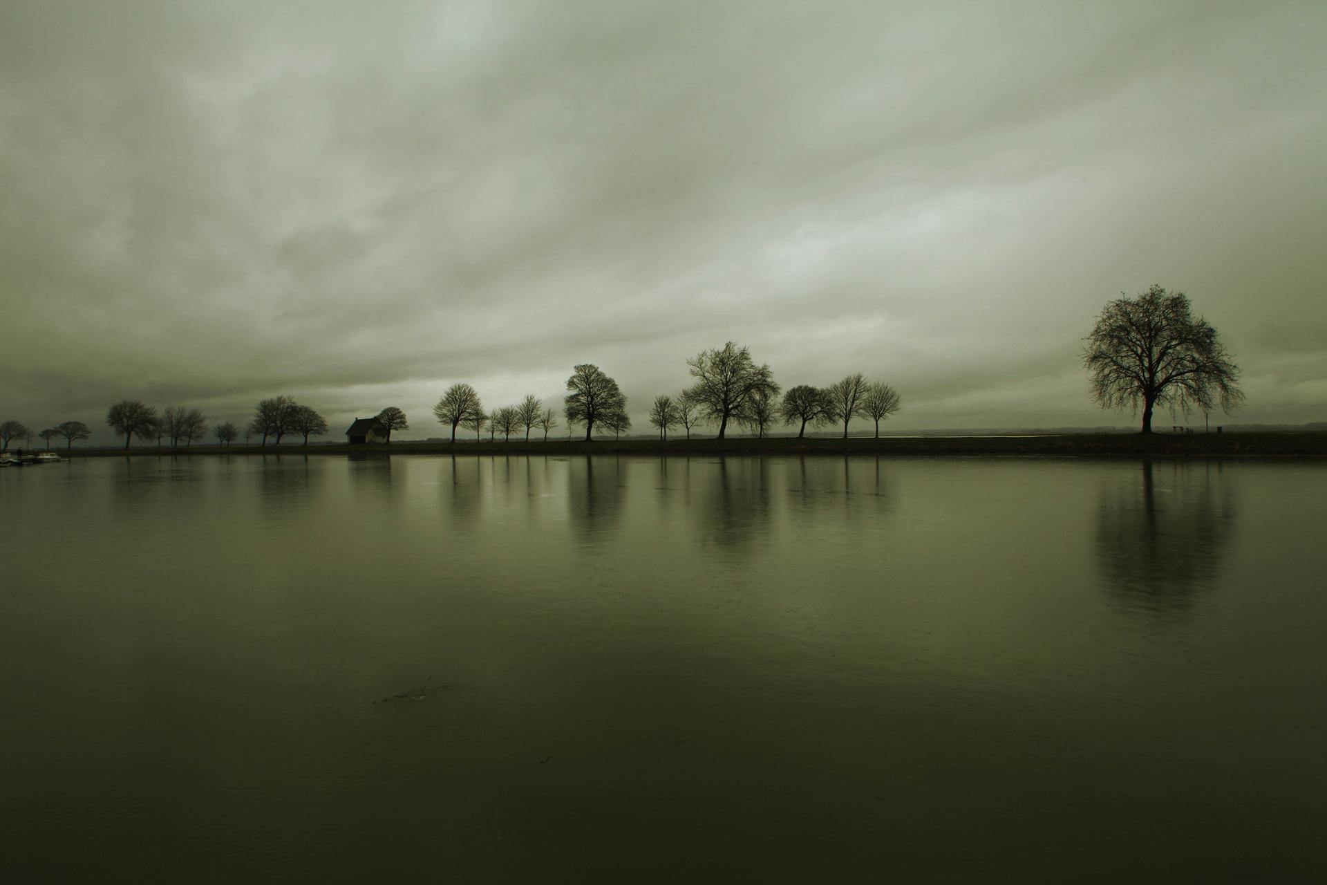 Saint Valery sur Somme : la digue nord