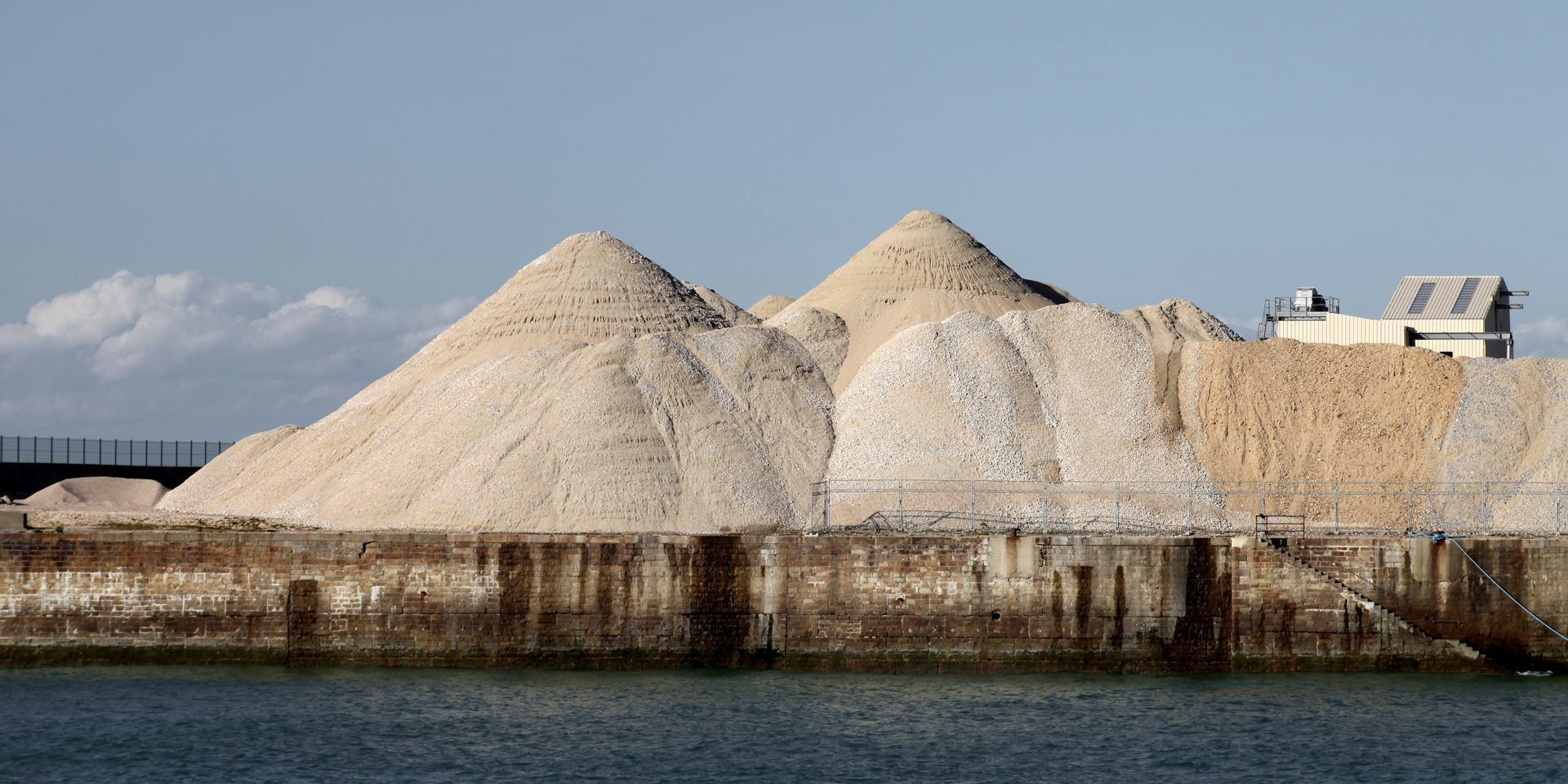 chateau de sable de géant