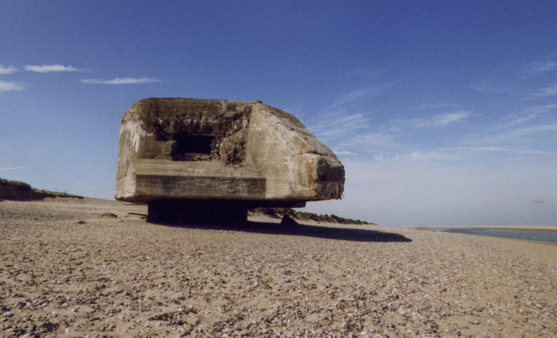 le blockhaus du Hourdel en 1998