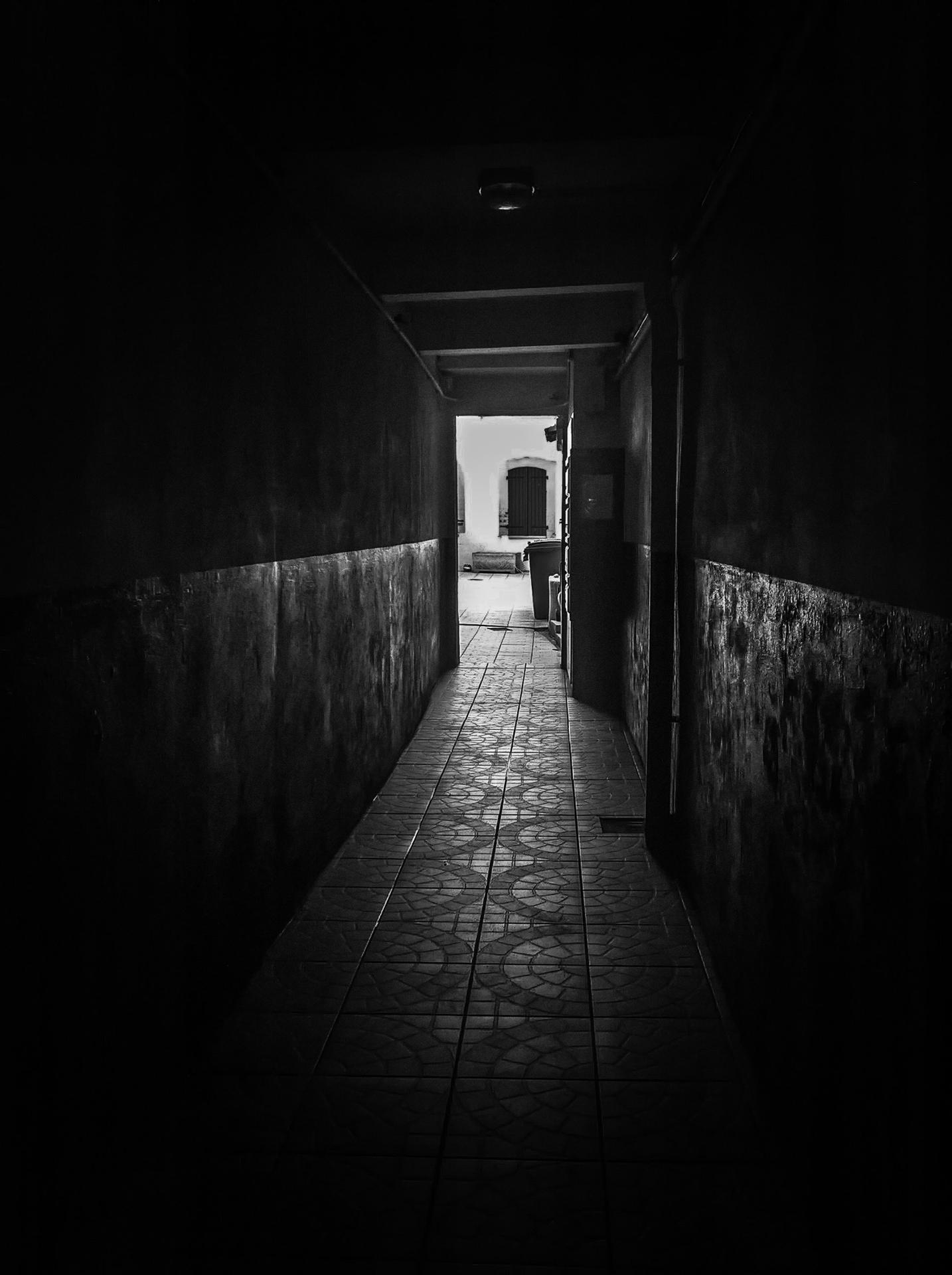 Acrylique corridor..