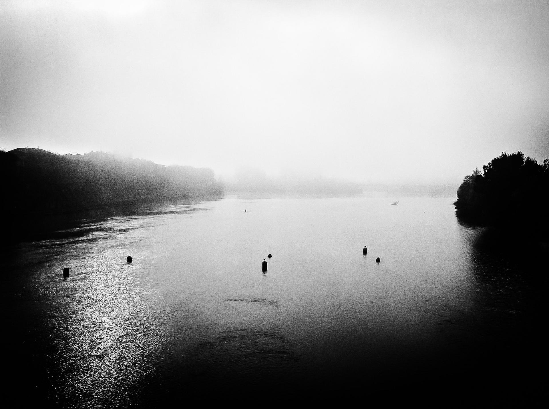 Brume sur Garonne..