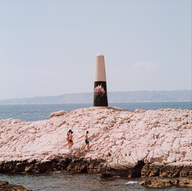 Marseille rocher des pendus